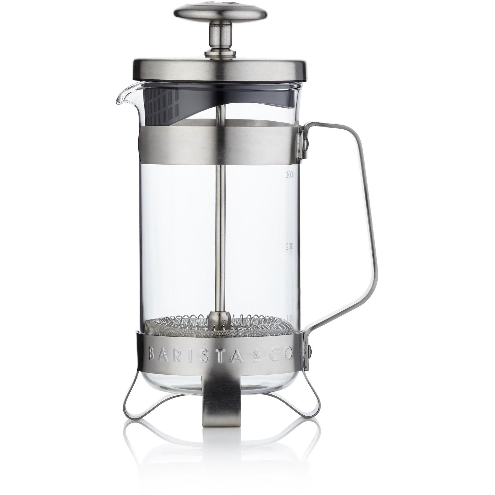Barista & Co. Kaffepress i borstat stål 3 koppar