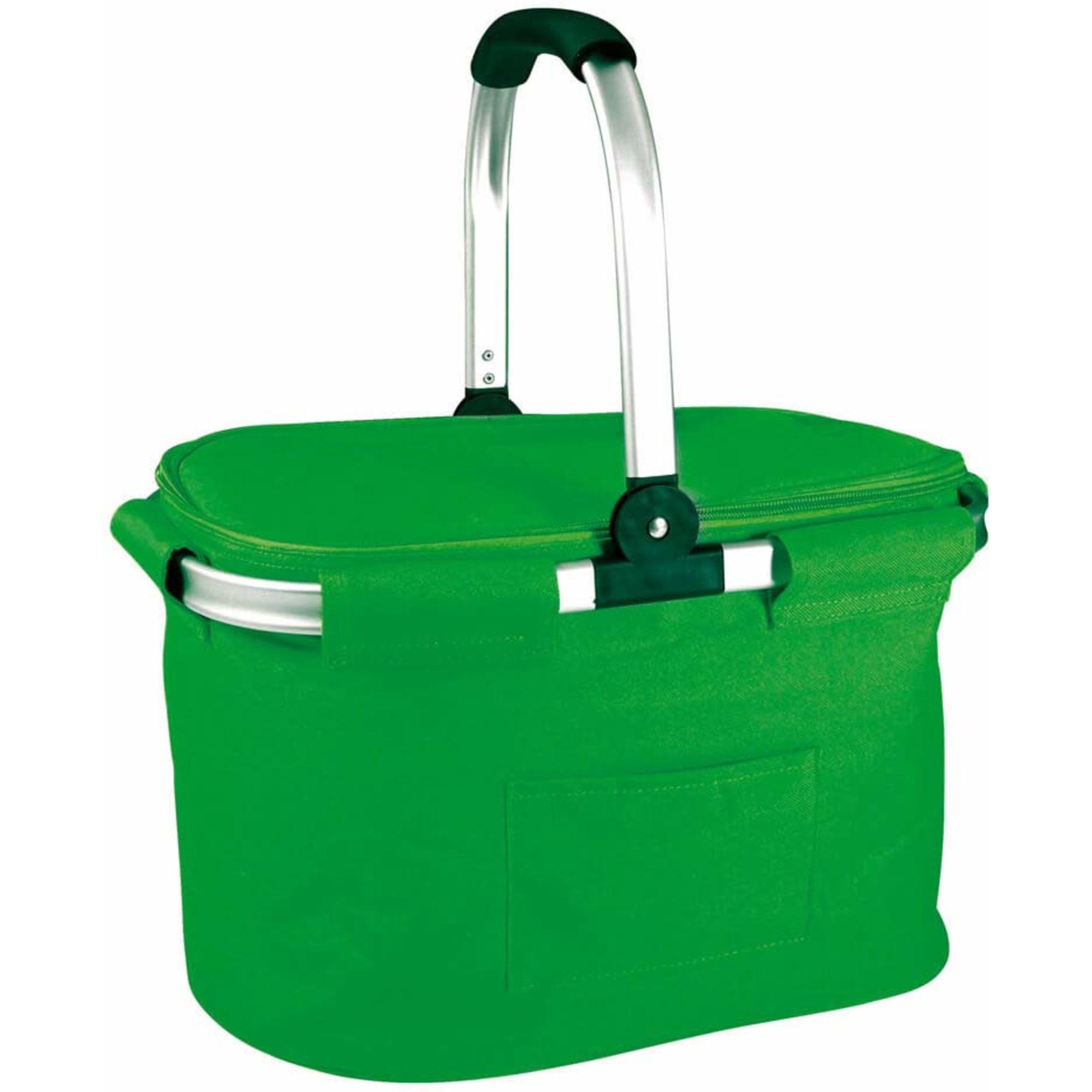 Bercato Kylväska Cooler Basket Grön