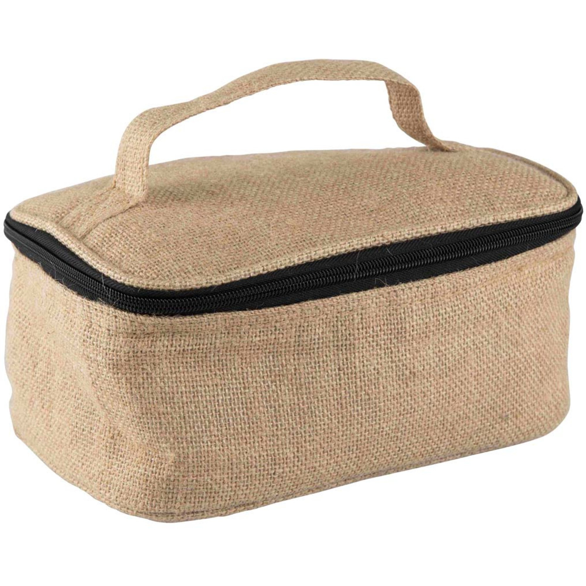 Bercato Kylväska Lunch Cooler Basket Jute