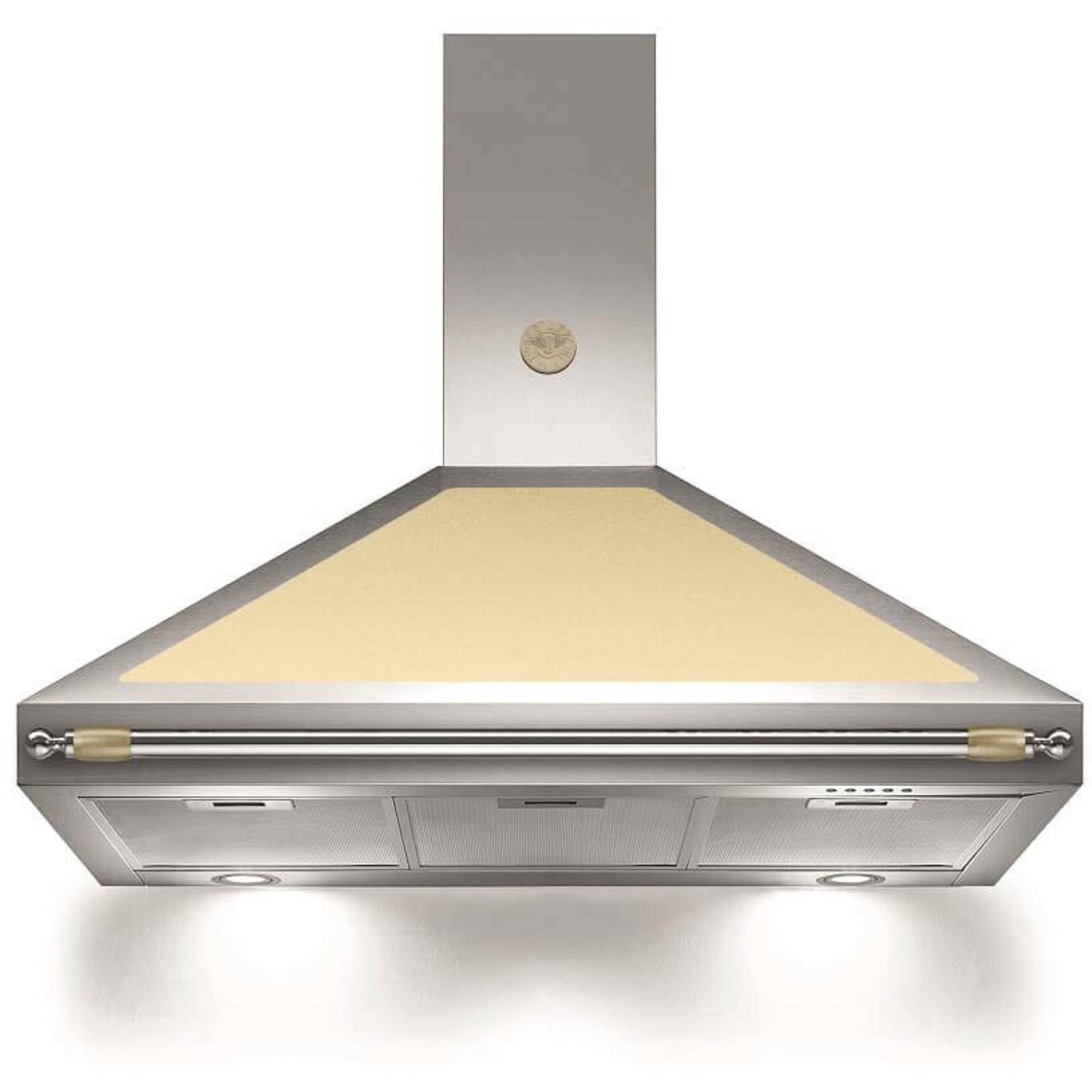 Bertazzoni Fläktkåpa K100HERCRA 100 cm Heritage-serien beige