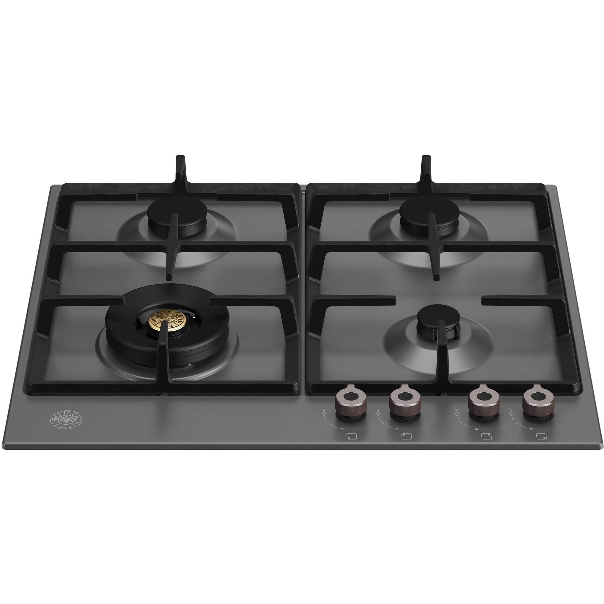 Bertazzoni Professional gasspis svart 60 cm.