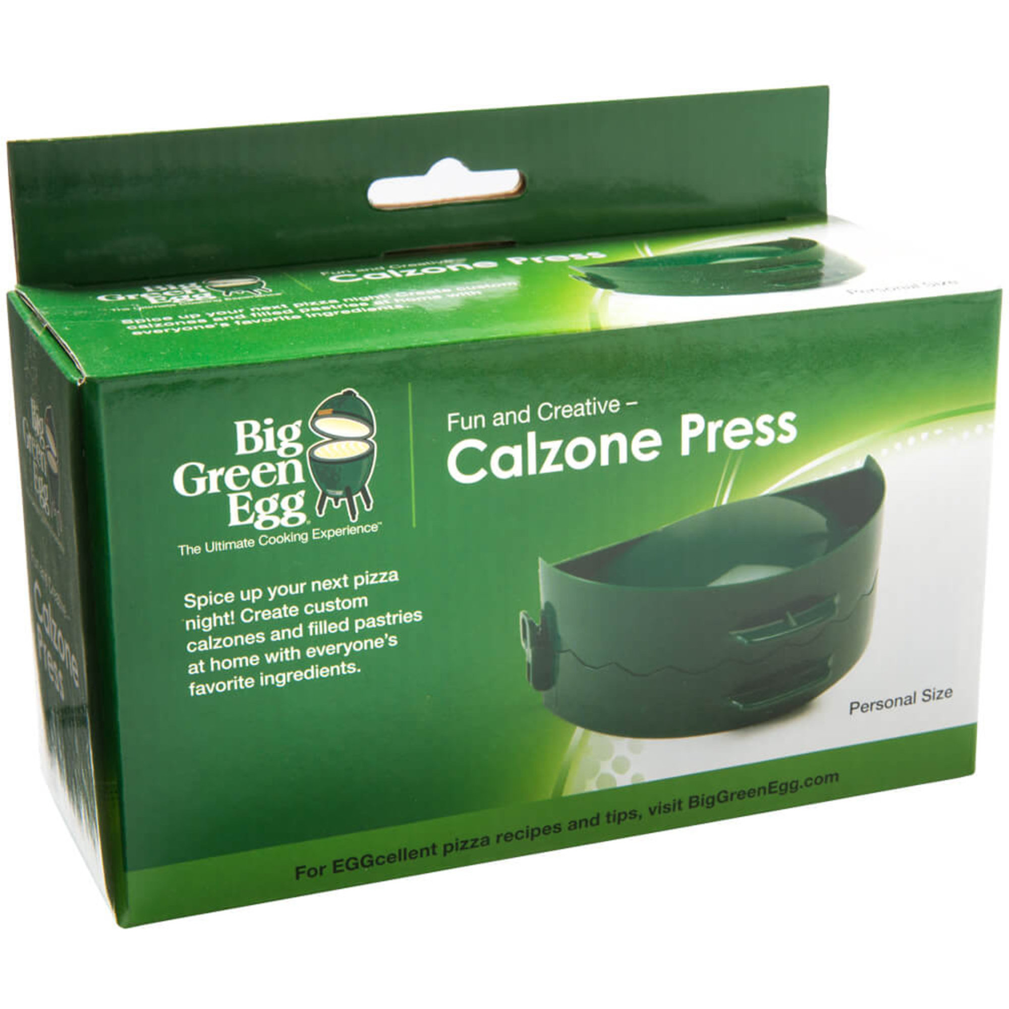 Pizza calzone presse Big Green Egg 16 cm 28 cm de diamètre