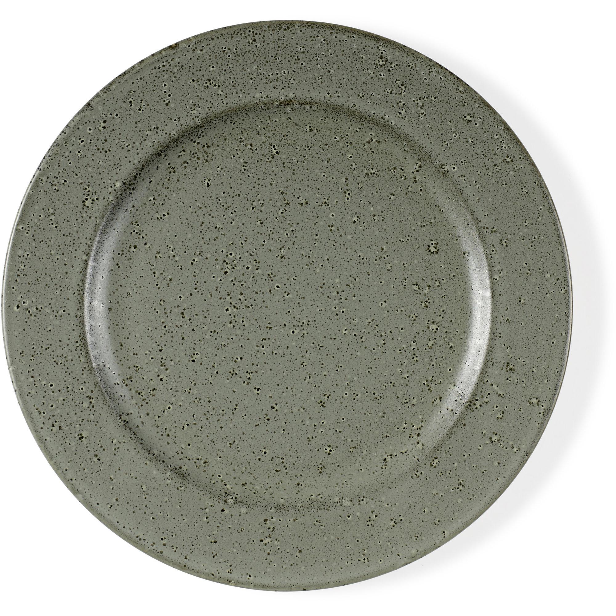 Bitz Desserttallrik 22 cm grön