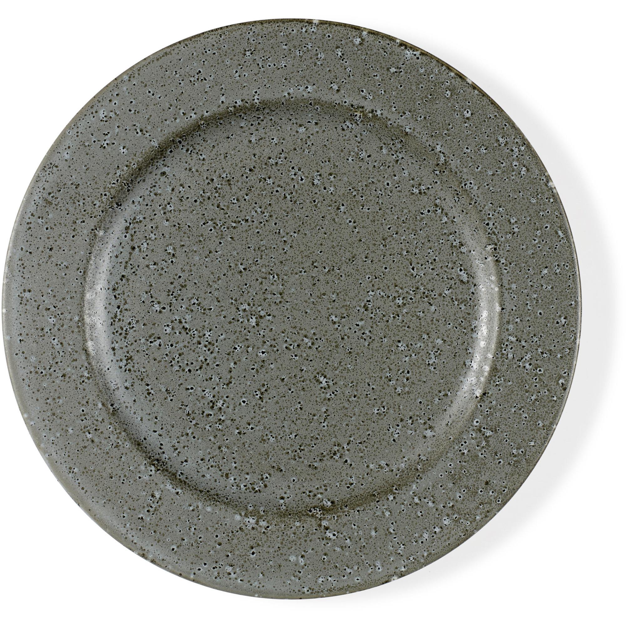 Bitz Desserttallrik 22 cm grå