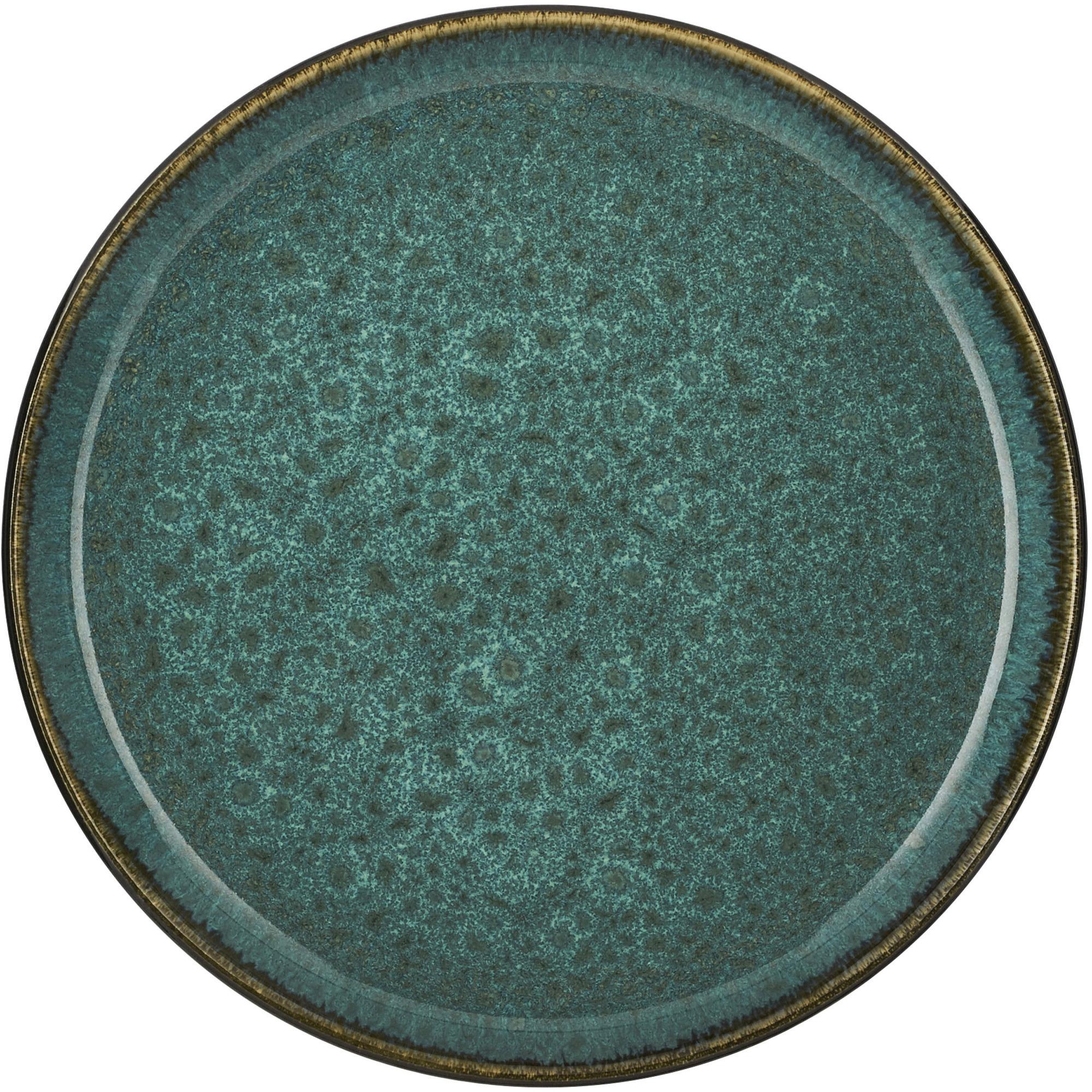 Gastro Tallrik 21 cm Grå/Grön
