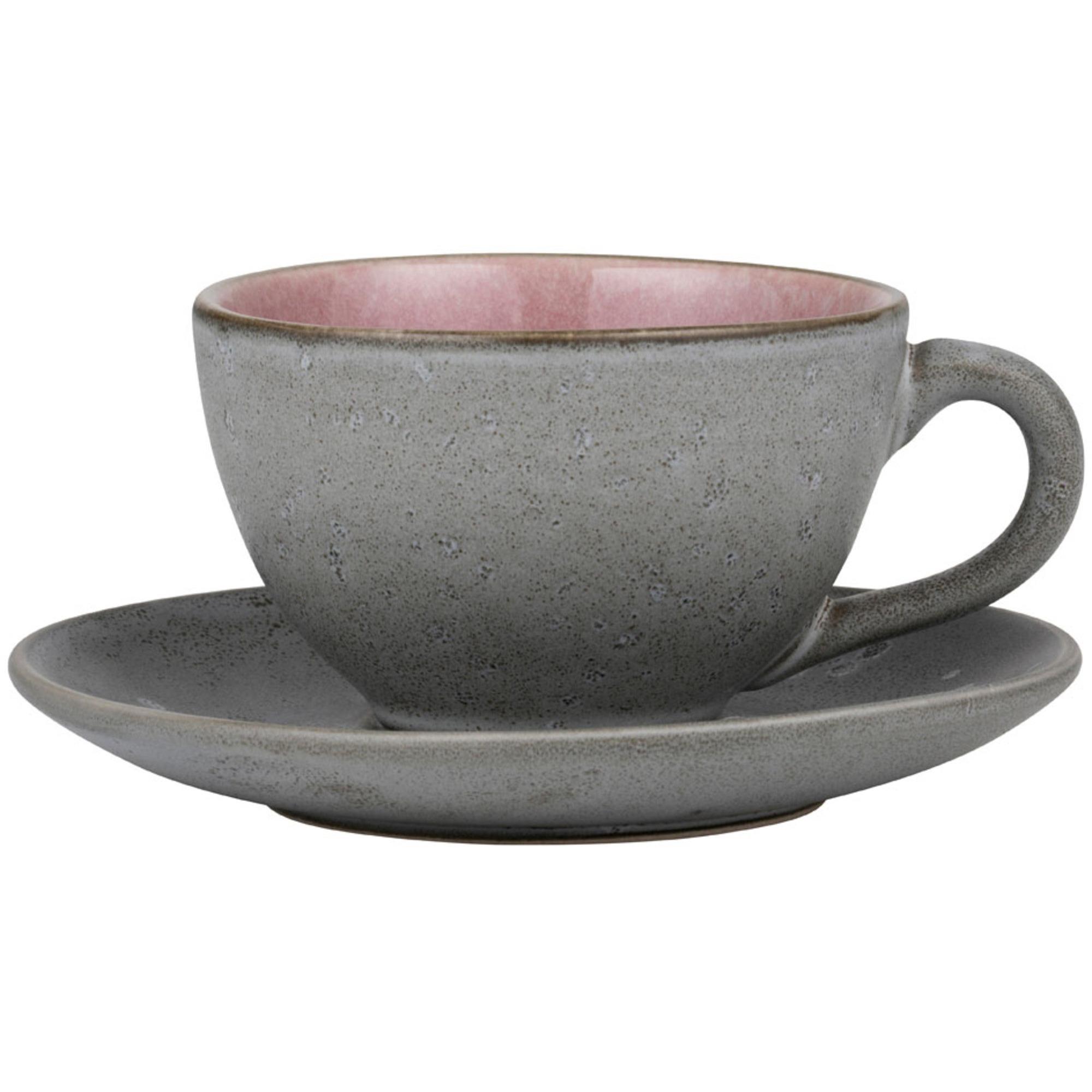 Bitz Kopp m tefat grå/rosa