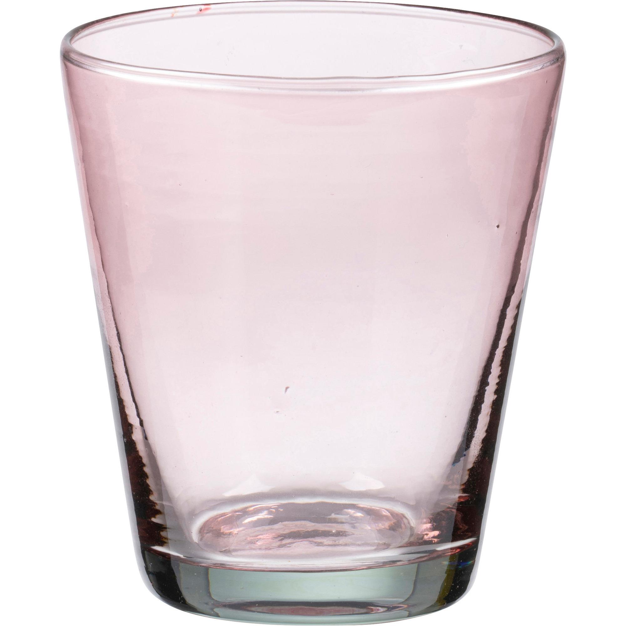 Bitz Vattenglas 30cl Rosa