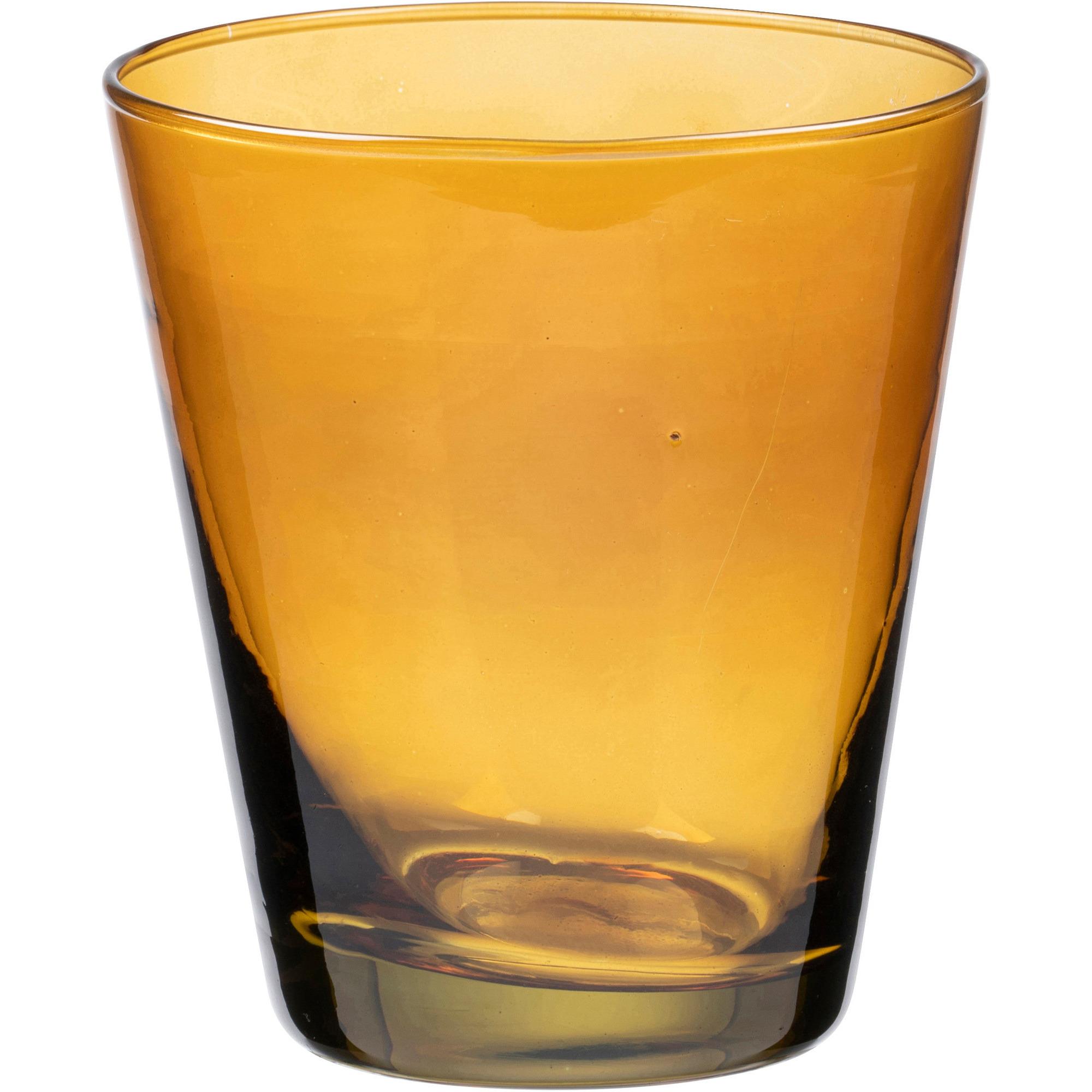 Bitz Vattenglas 30cl Amber