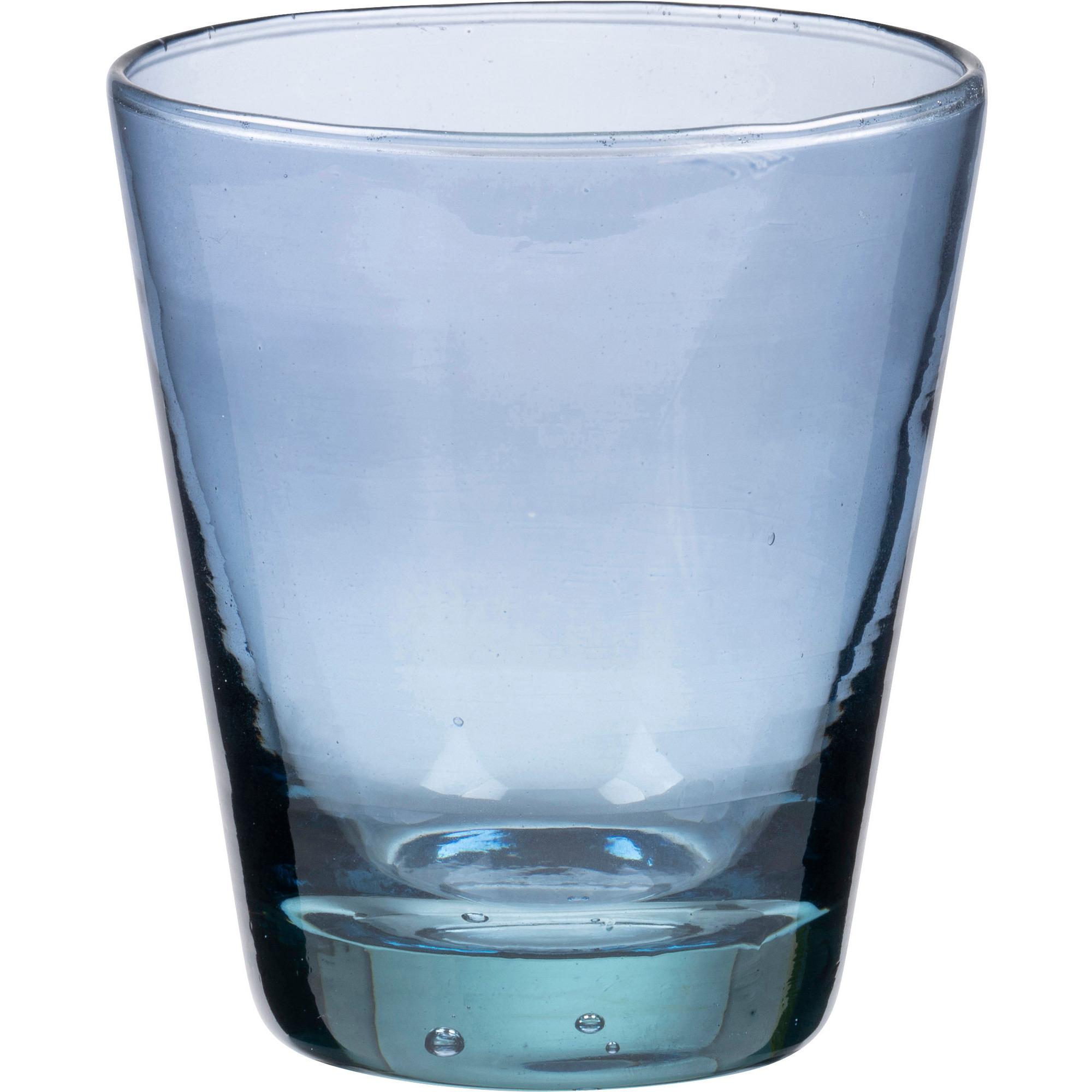 Bitz Vattenglas 30cl Blå