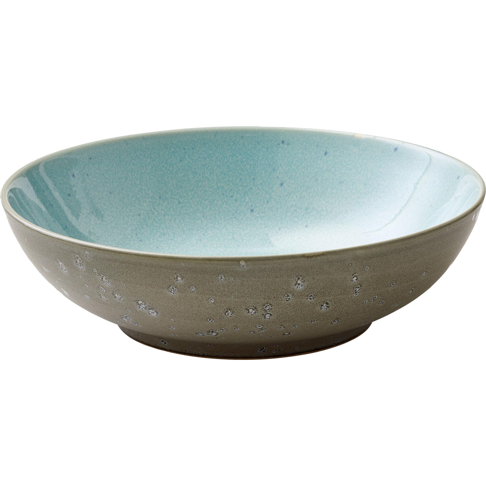 Bitz Salladsskål 24 cm grå/ljusblå