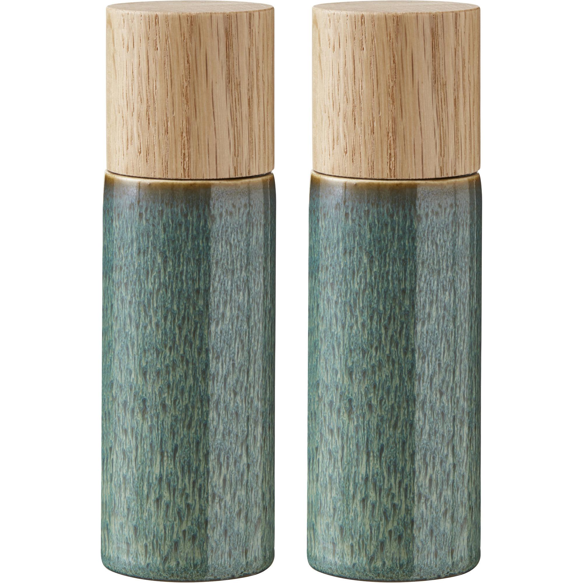 Bitz Salt- och pepparkvarn grön