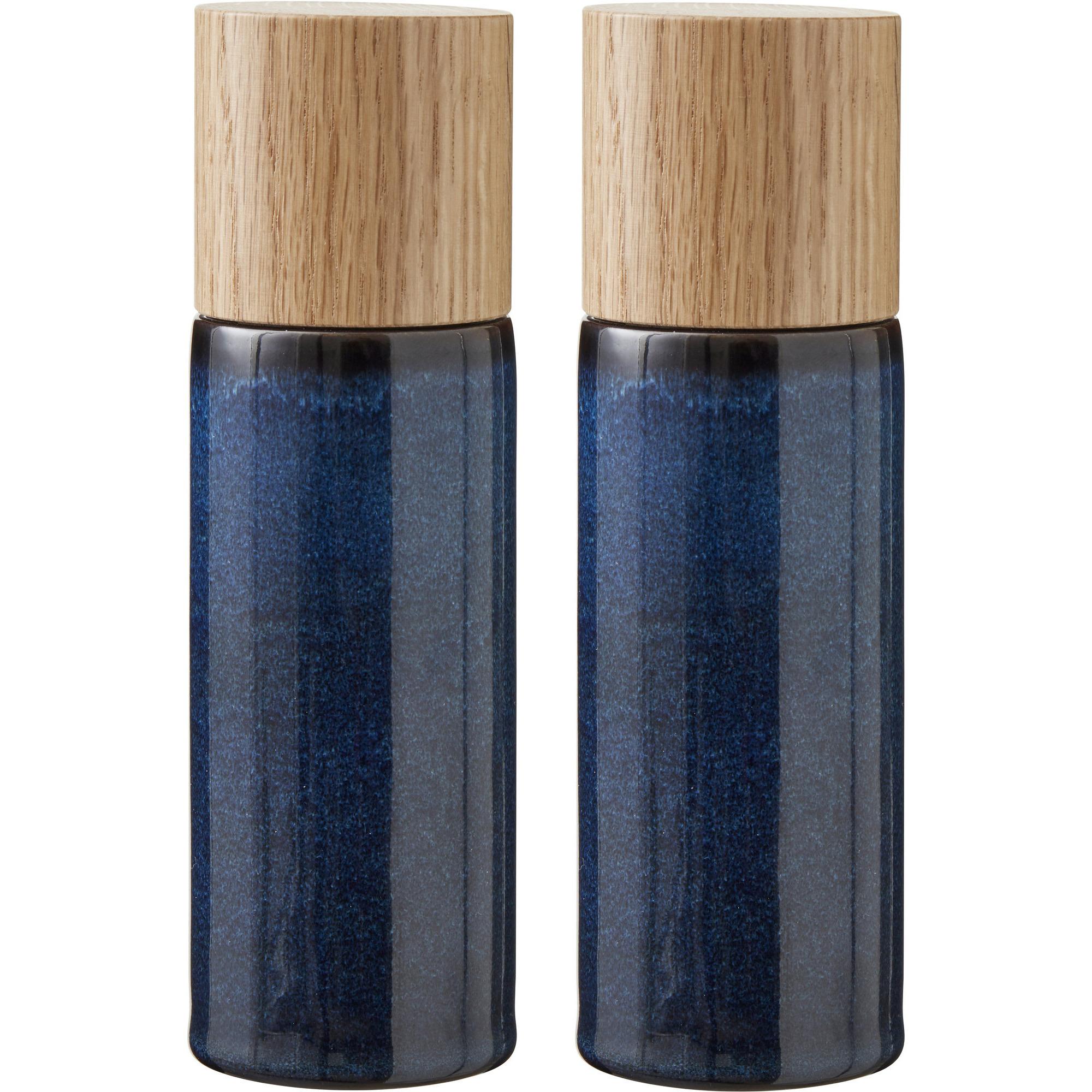 Bitz Salt- och pepparkvarn blå