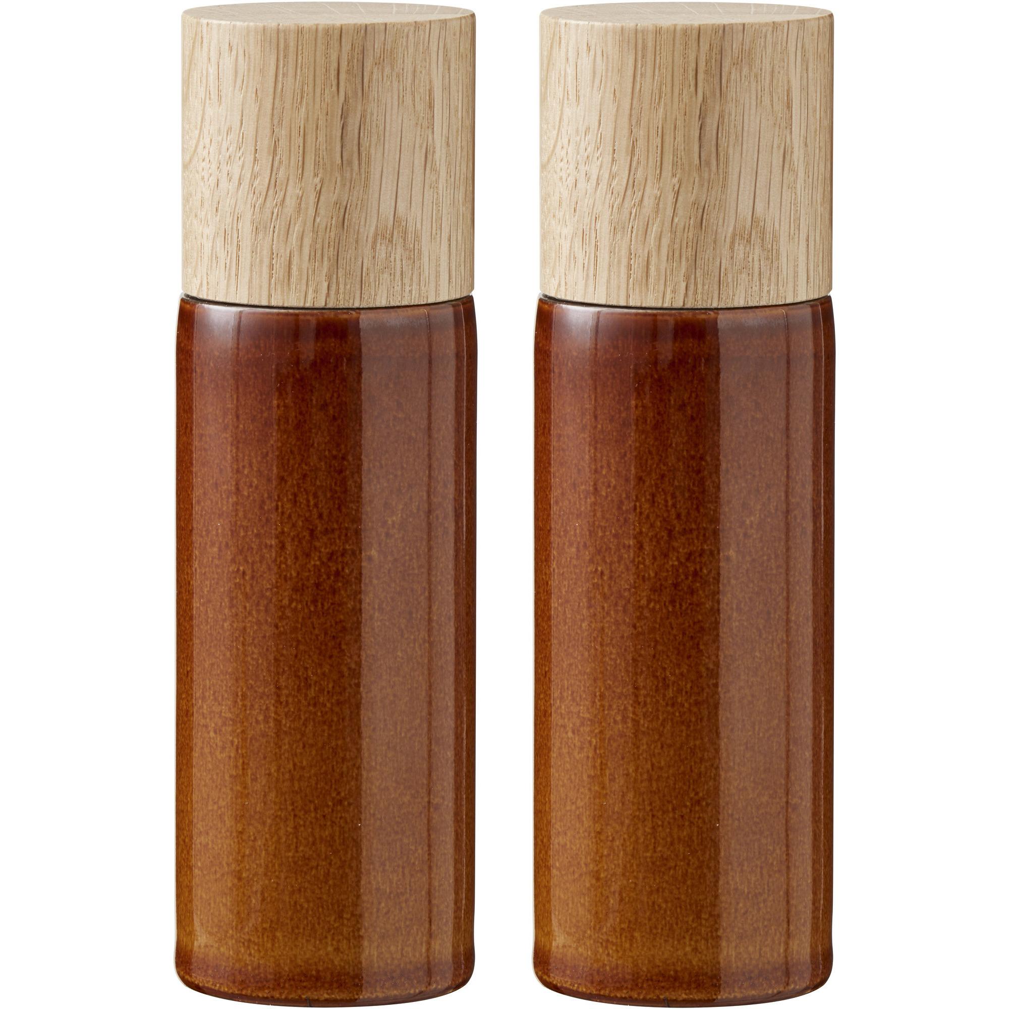 Bitz Salt- och pepparkvarn amber