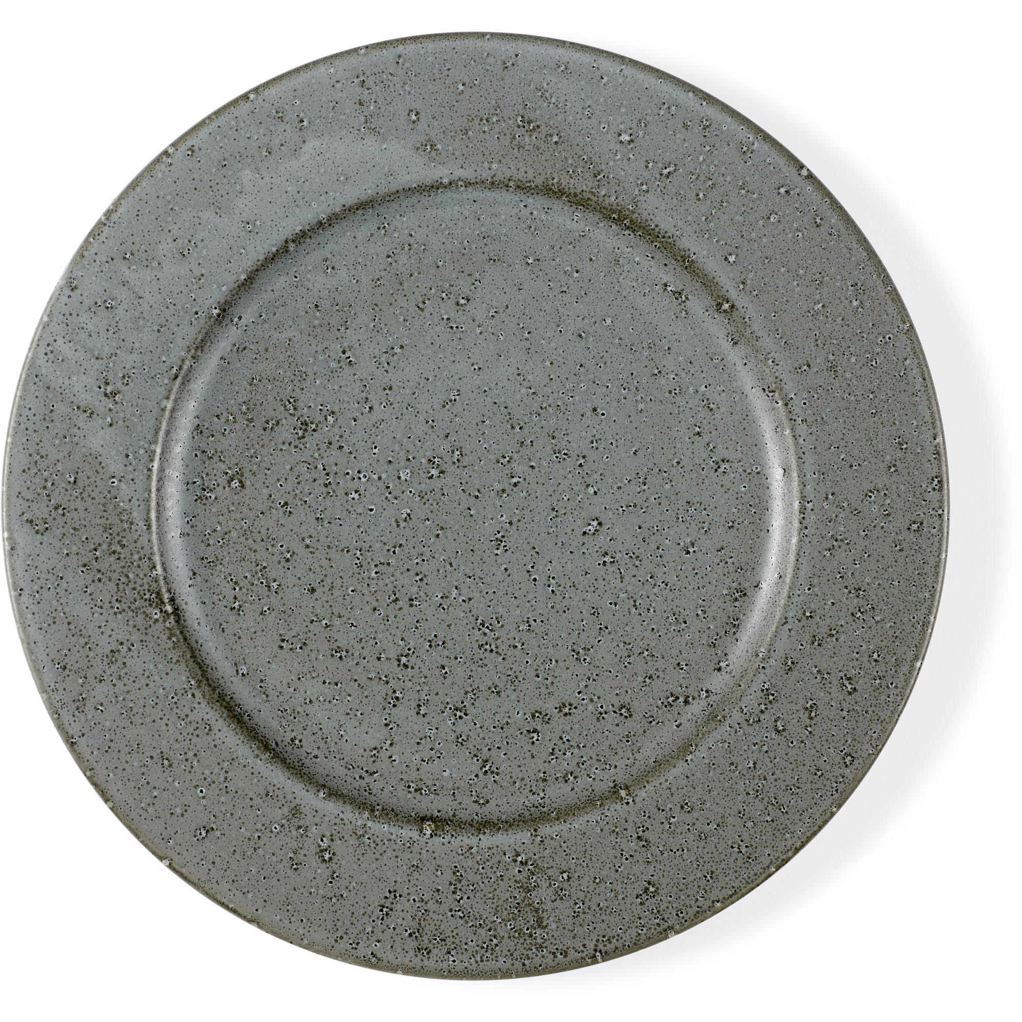 Bitz Tallrik 27 cm grå