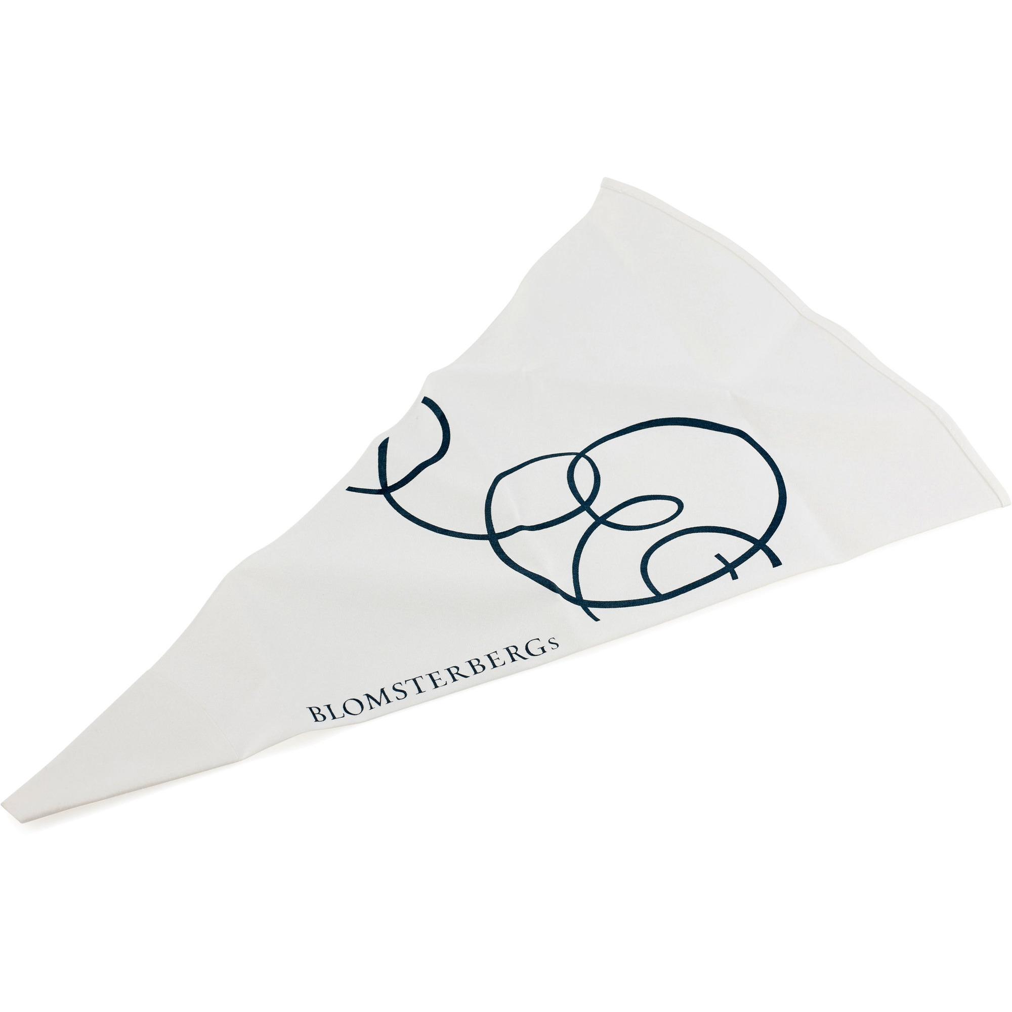 Kæmpestor Bestil Sprøjtepose 46 cm hvid bomuld fra Blomsterbergs VK06