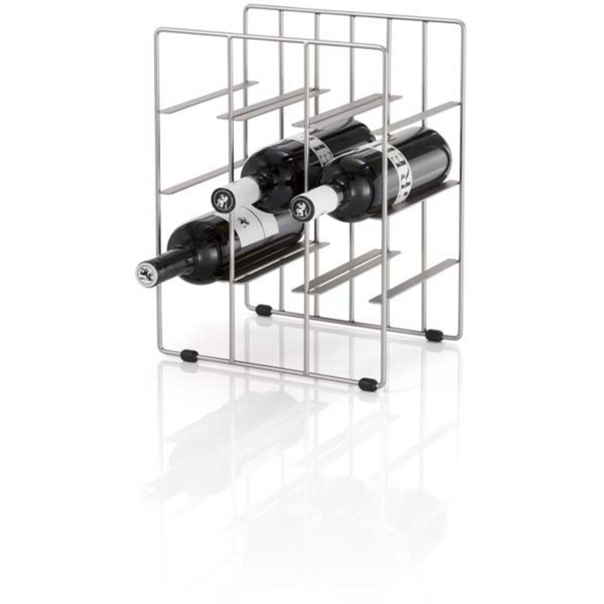Blomus Pilare Vinställ för 9 Flaskor H 38 cm B 28 cm D 22 cm