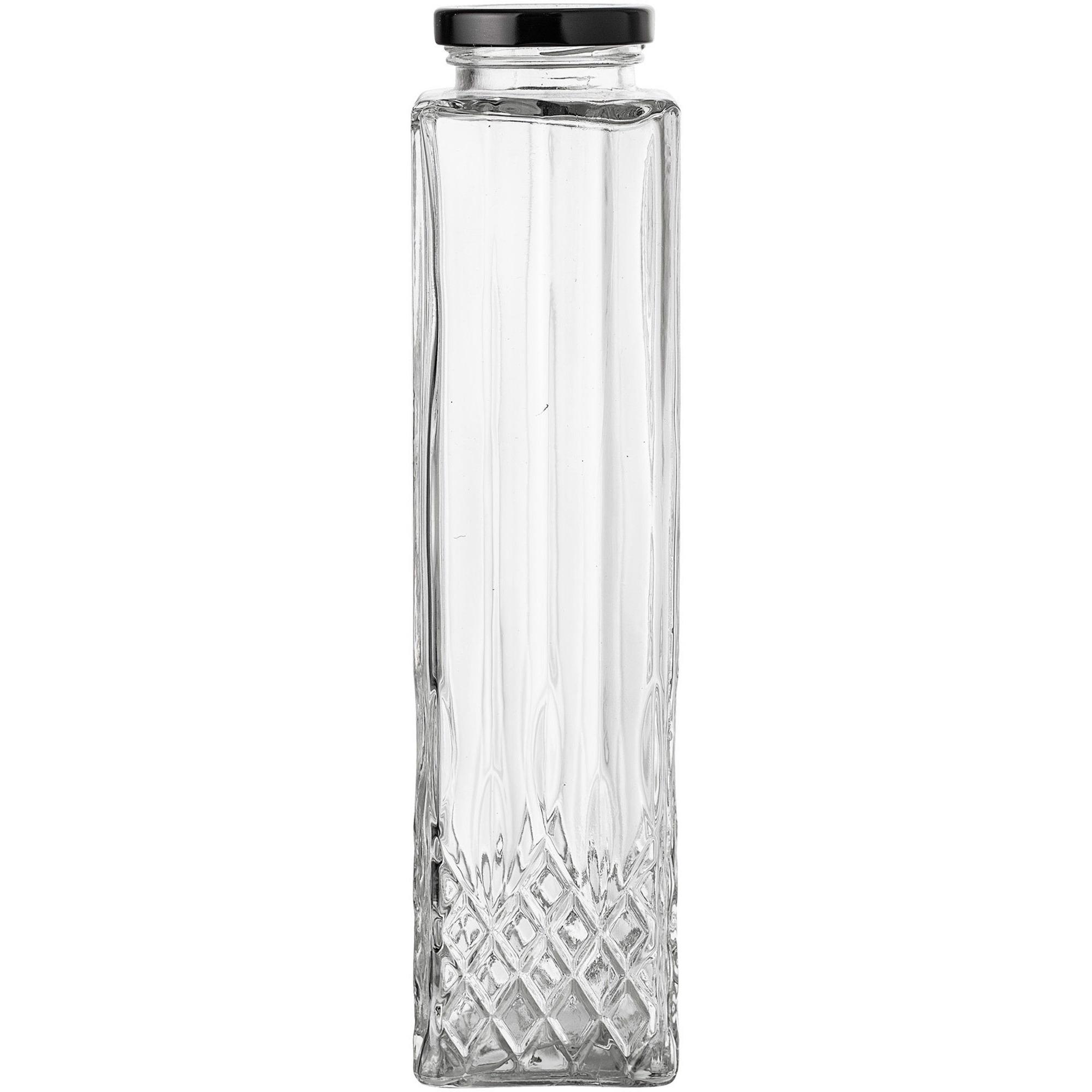 Bloomingville Glasflaska med lock