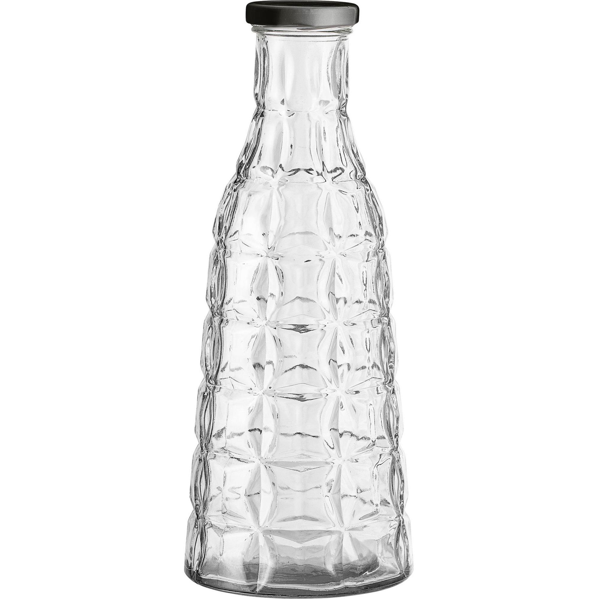 Bloomingville Glasflaska Ø105 cm. m. lock