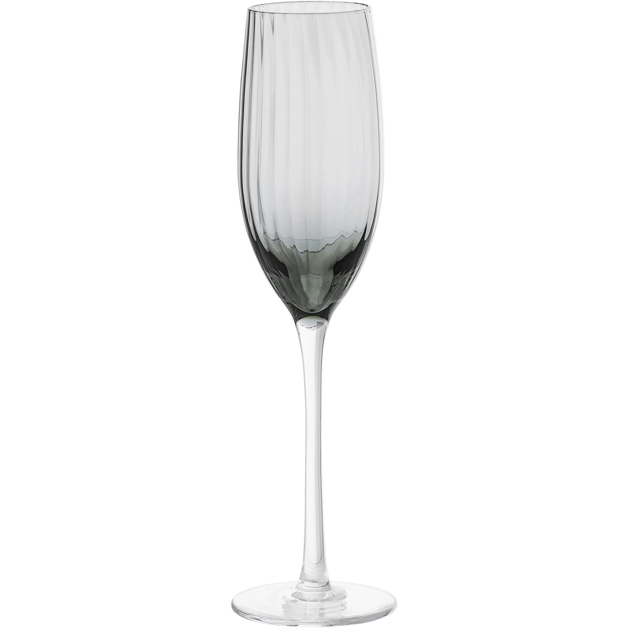 Bloomingville Grå Champagneglas