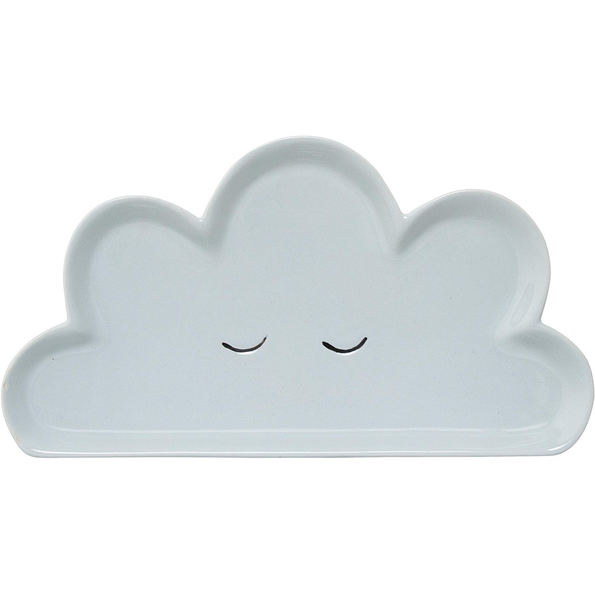 Bloomingville Mini Smilla Tallrik Blått moln