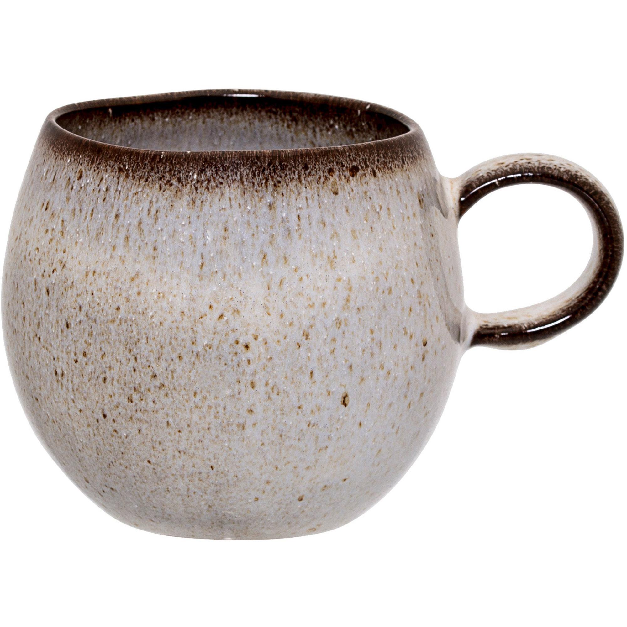 Bloomingville Sandrine kopp 8 cm. grå