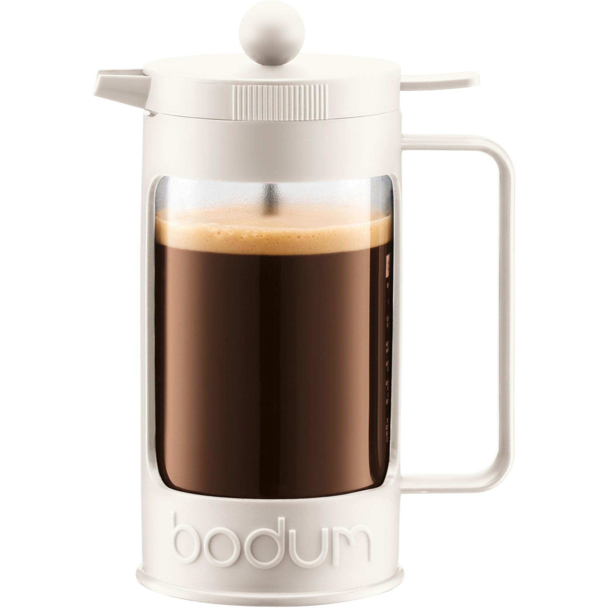 Bodum Bean Vit Pressbryggare 3 Koppar 035 l