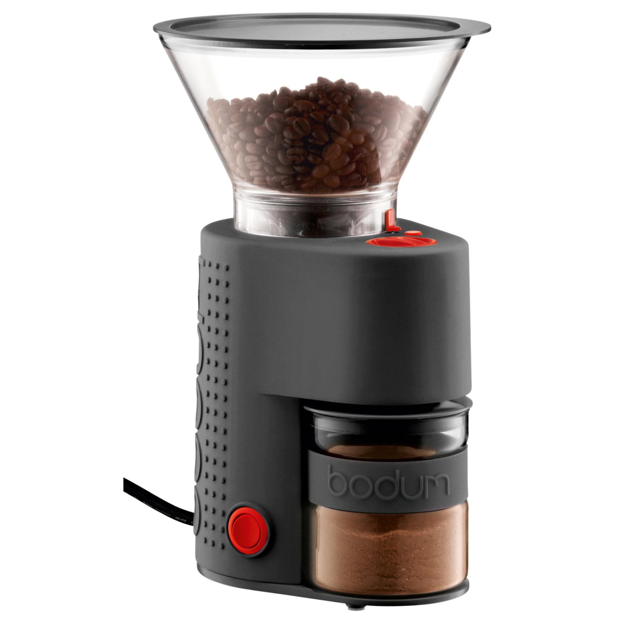 Bodum Bistro Elektrisk Kaffekvarn Svart