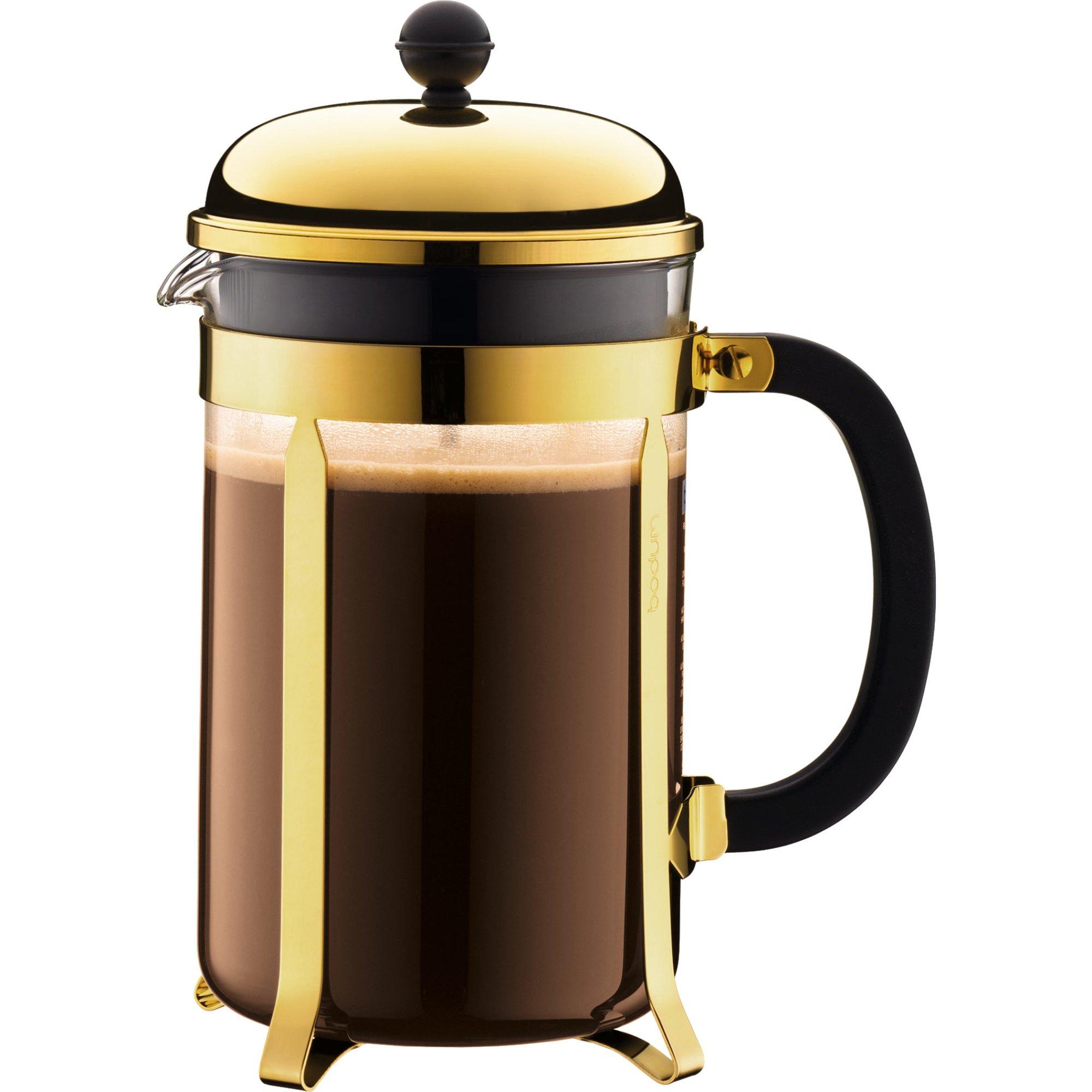 Bodum Chambord Guld kaffepress 12 Koppar 15 l