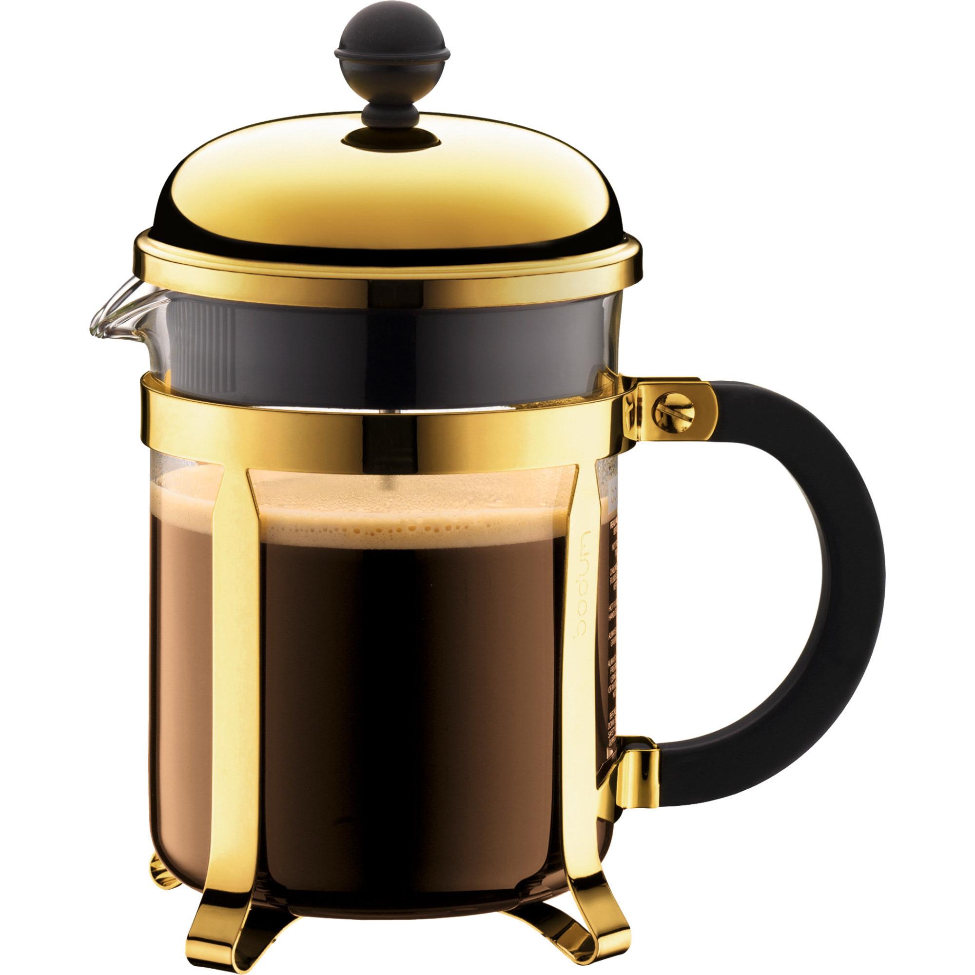 Bodum Chambord Guld Cafetiere 4 Koppar 05 l