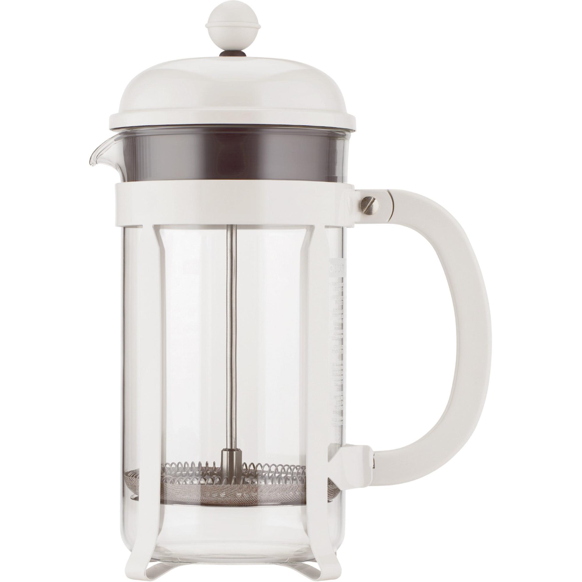 Bodum Chambord Vit kaffepress 8 Koppar 10 l