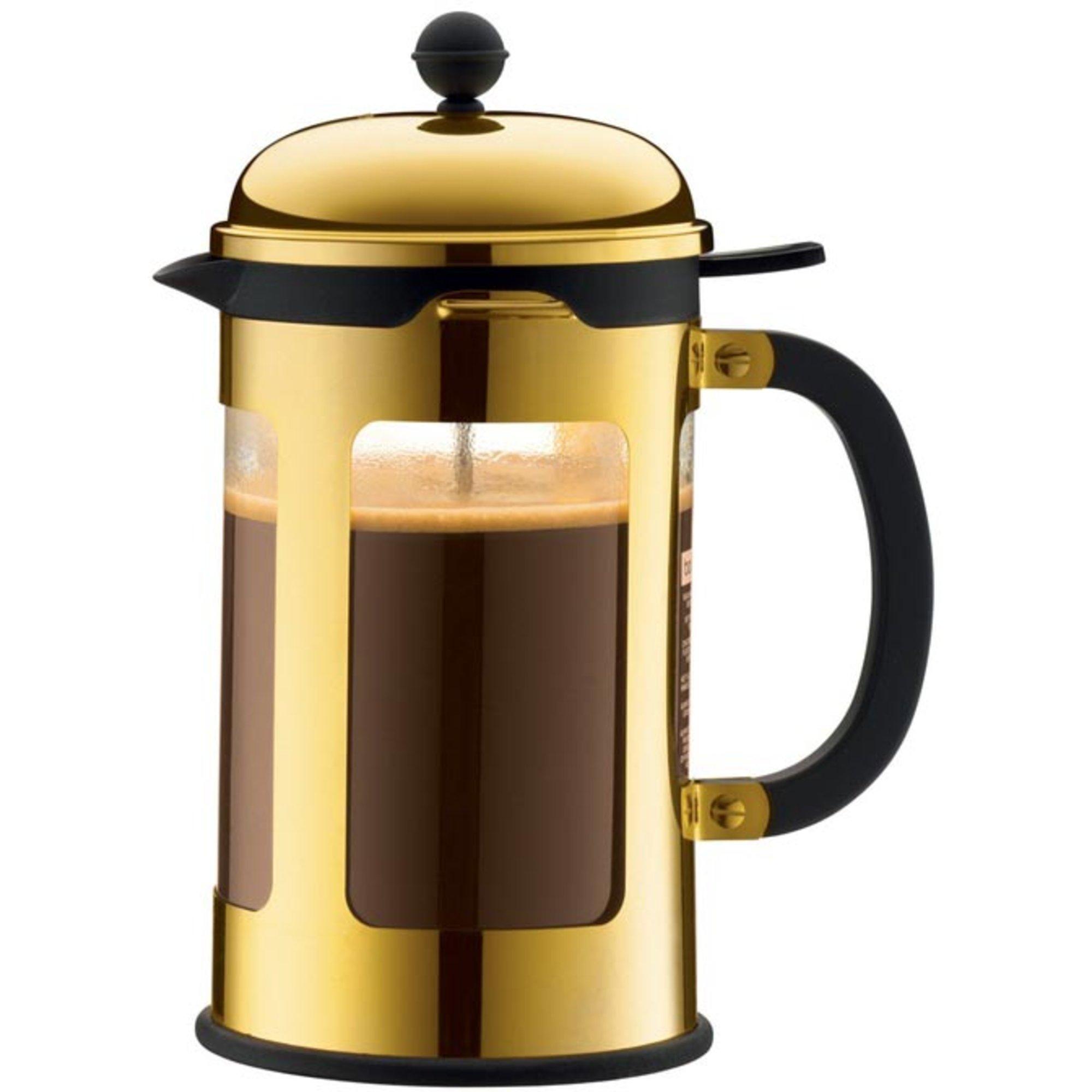 Bodum Chambord kaffepress i guld