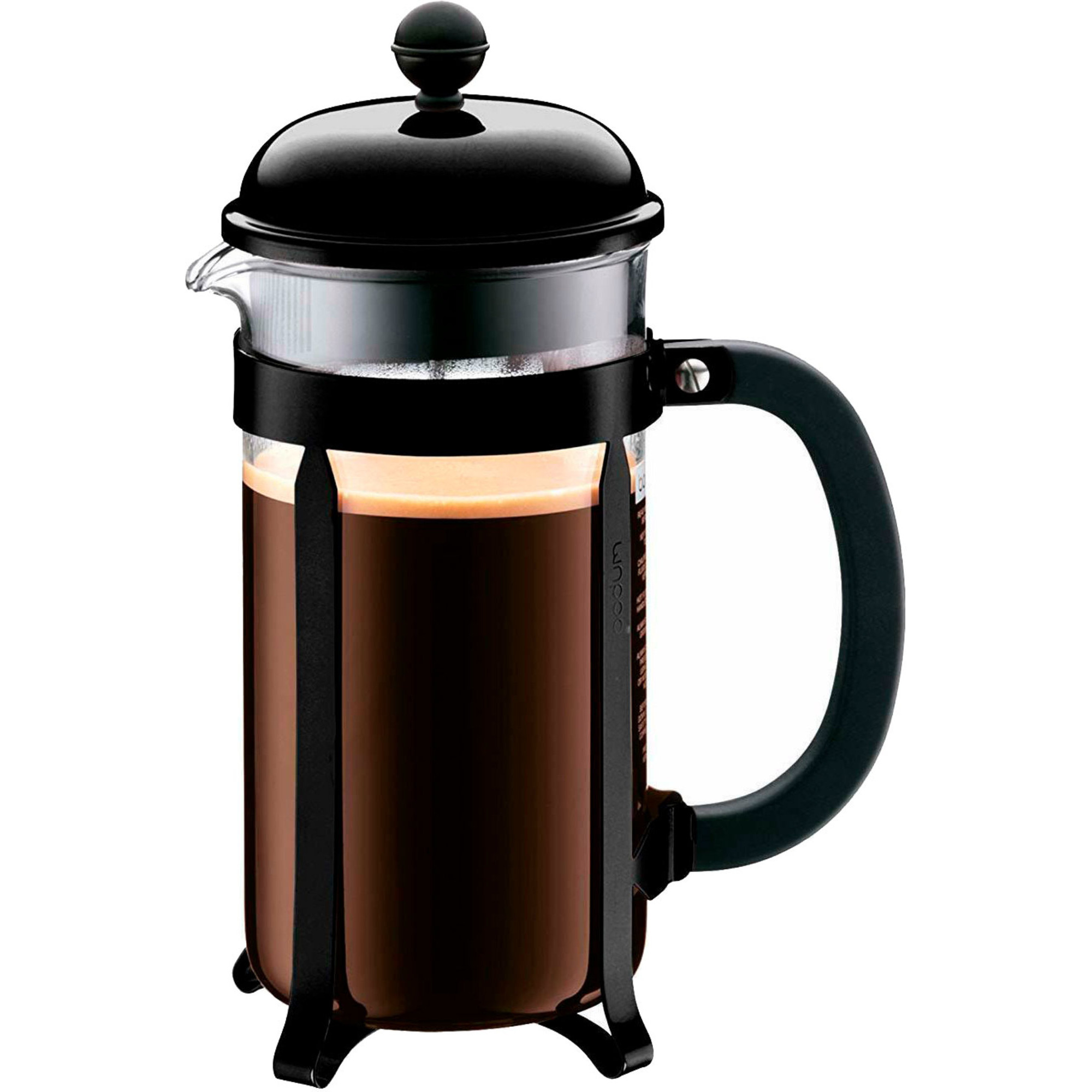 Bodum Chambord kaffepress 8 Koppar 1 l svart