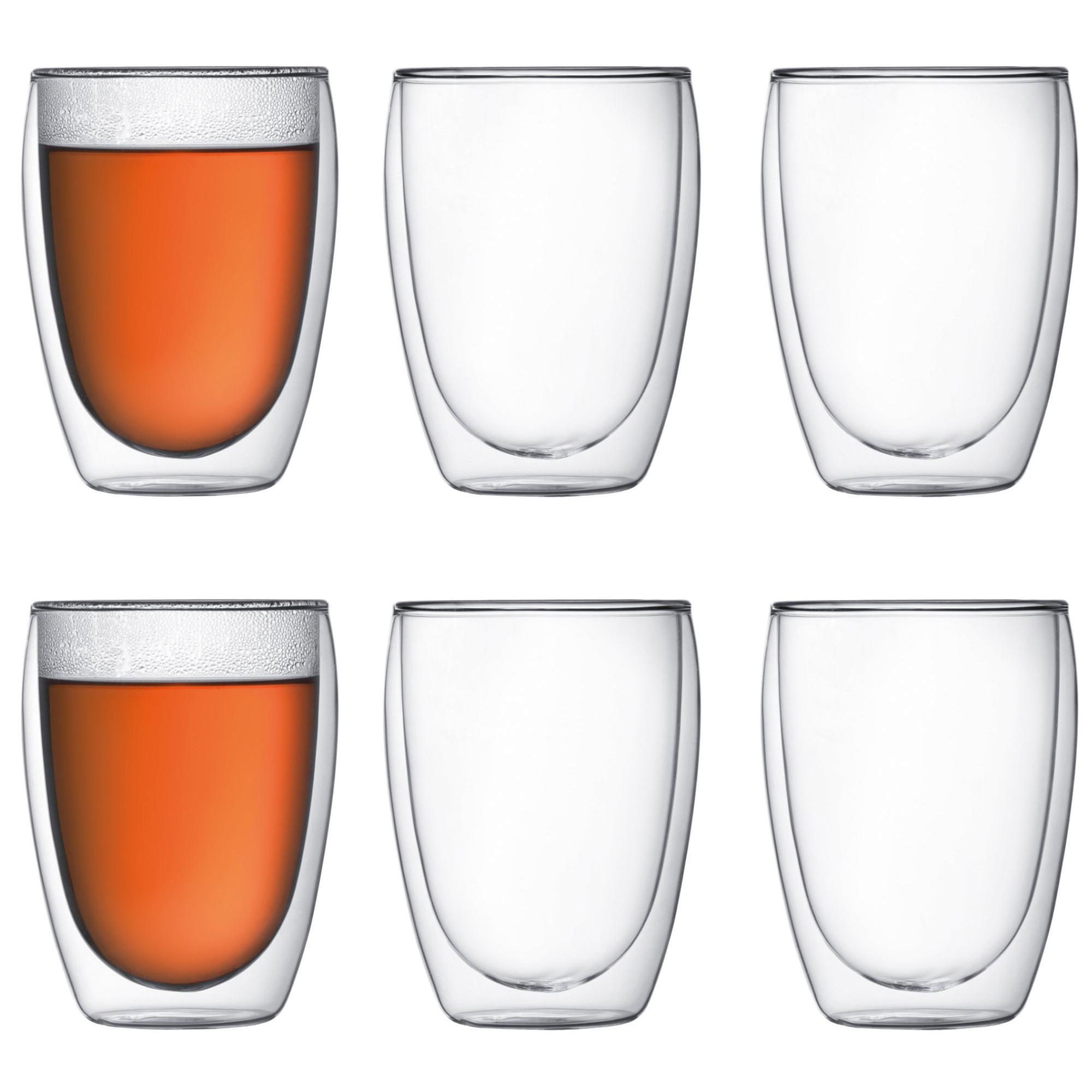 Bodum Pavina Dubbelväggigt glas Medium 6 pack