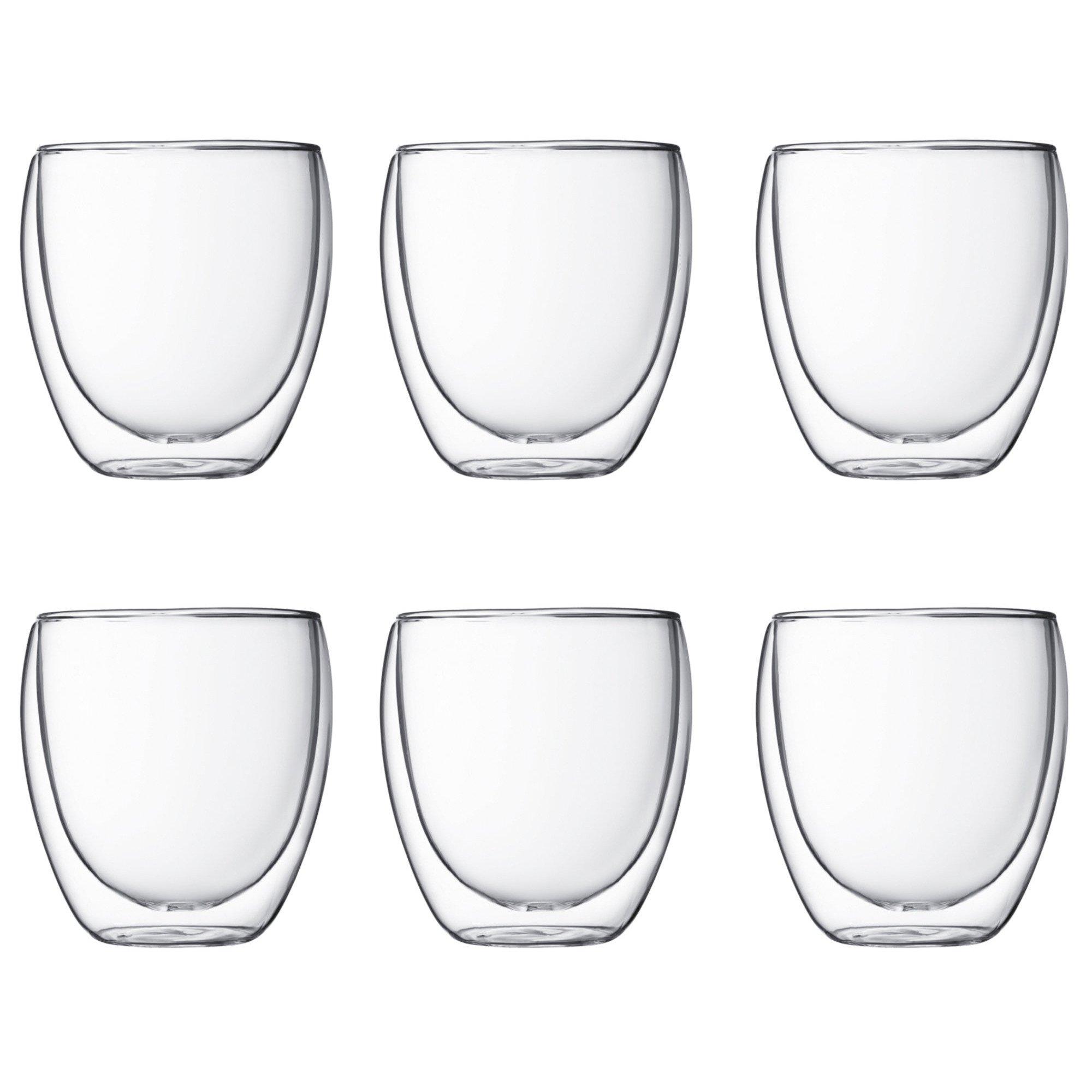 Bodum Pavina Dubbelväggigt Glas Small 6 pack