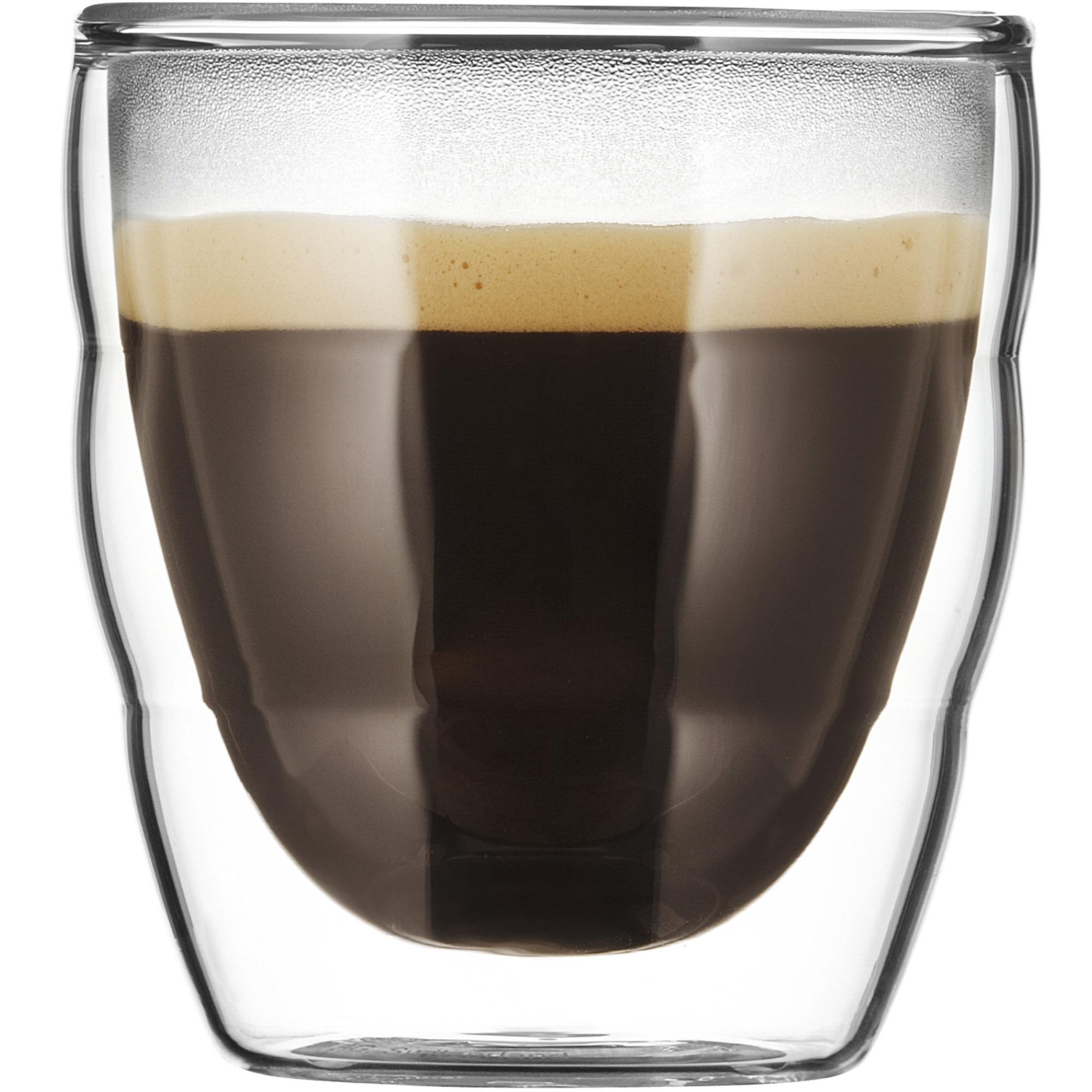 Bodum PILATUS Dubbelväggat espressoglas – 2 st.