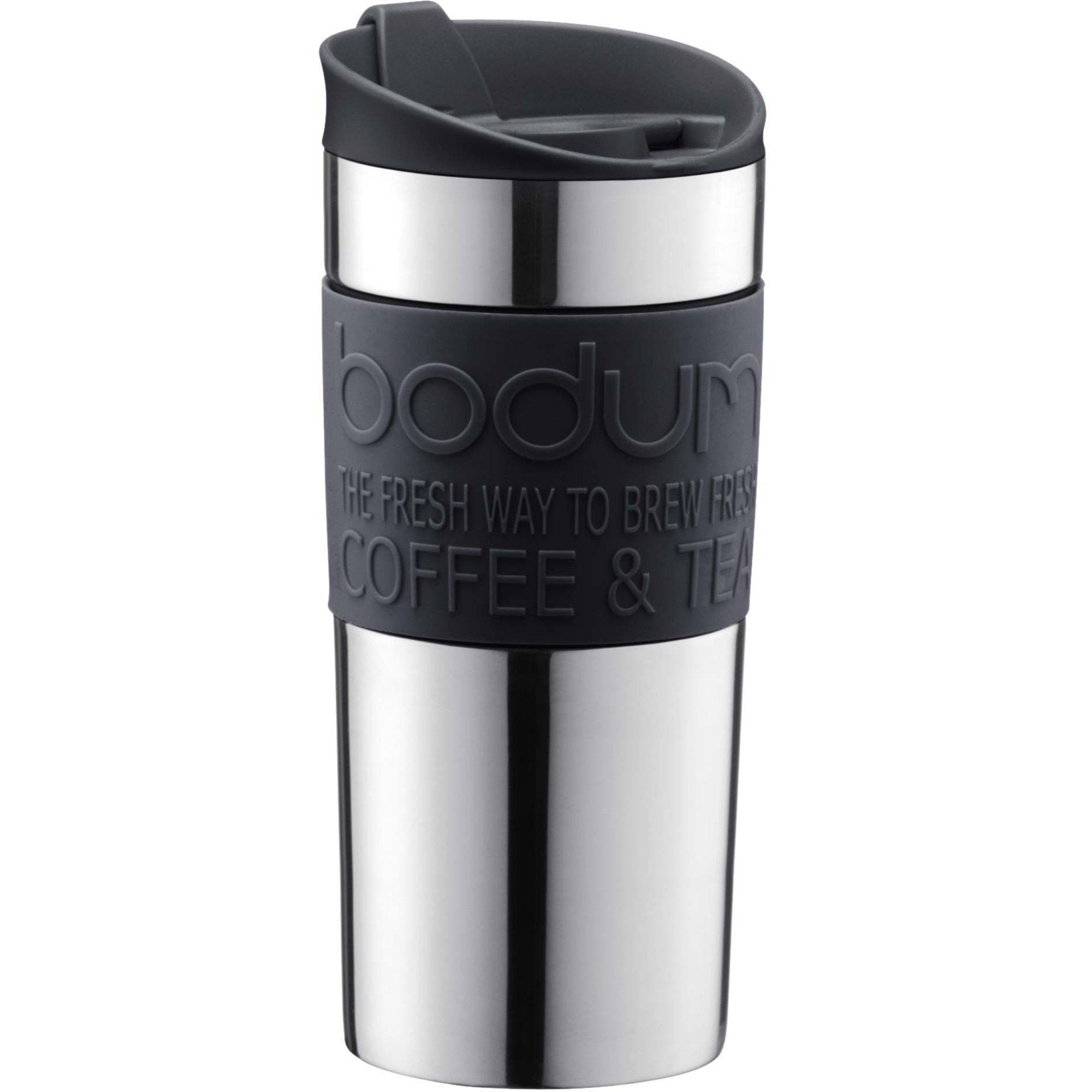 Bodum Resemugg 35 cl rostfritt stål/svart