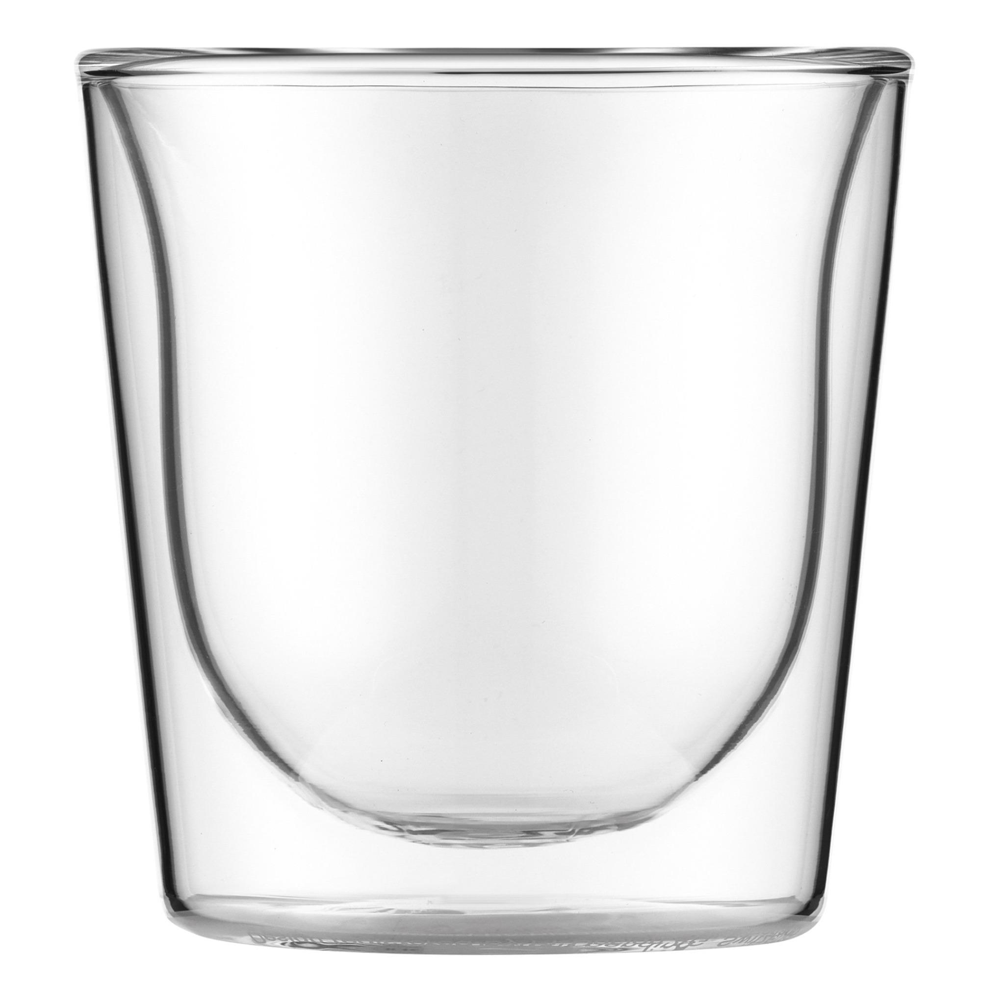 Bodum SKÅL dubbelväggat glas 02 l 2 stk.