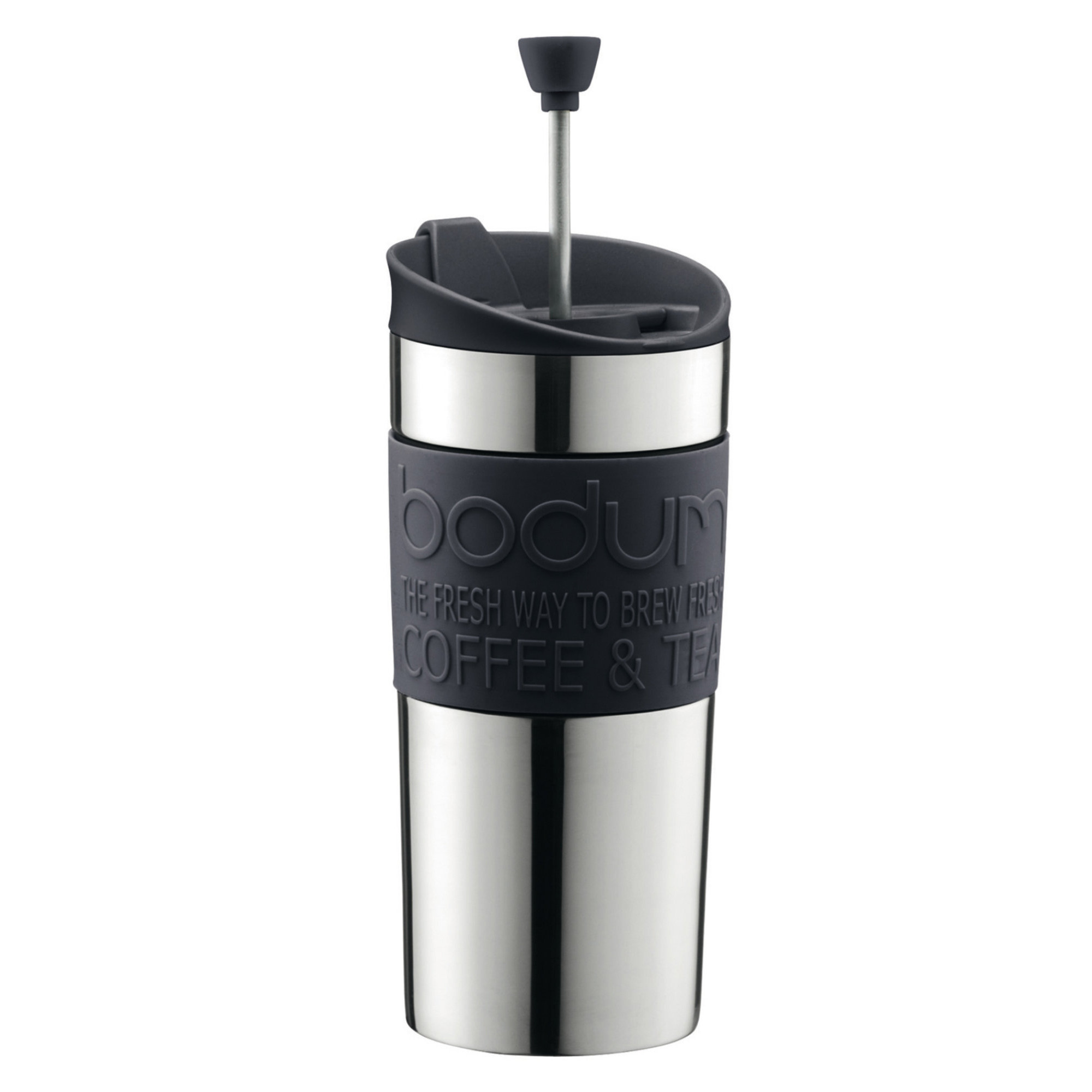 Beställ Travel press set Resmugg, 0,35 l, Svart från Bodum
