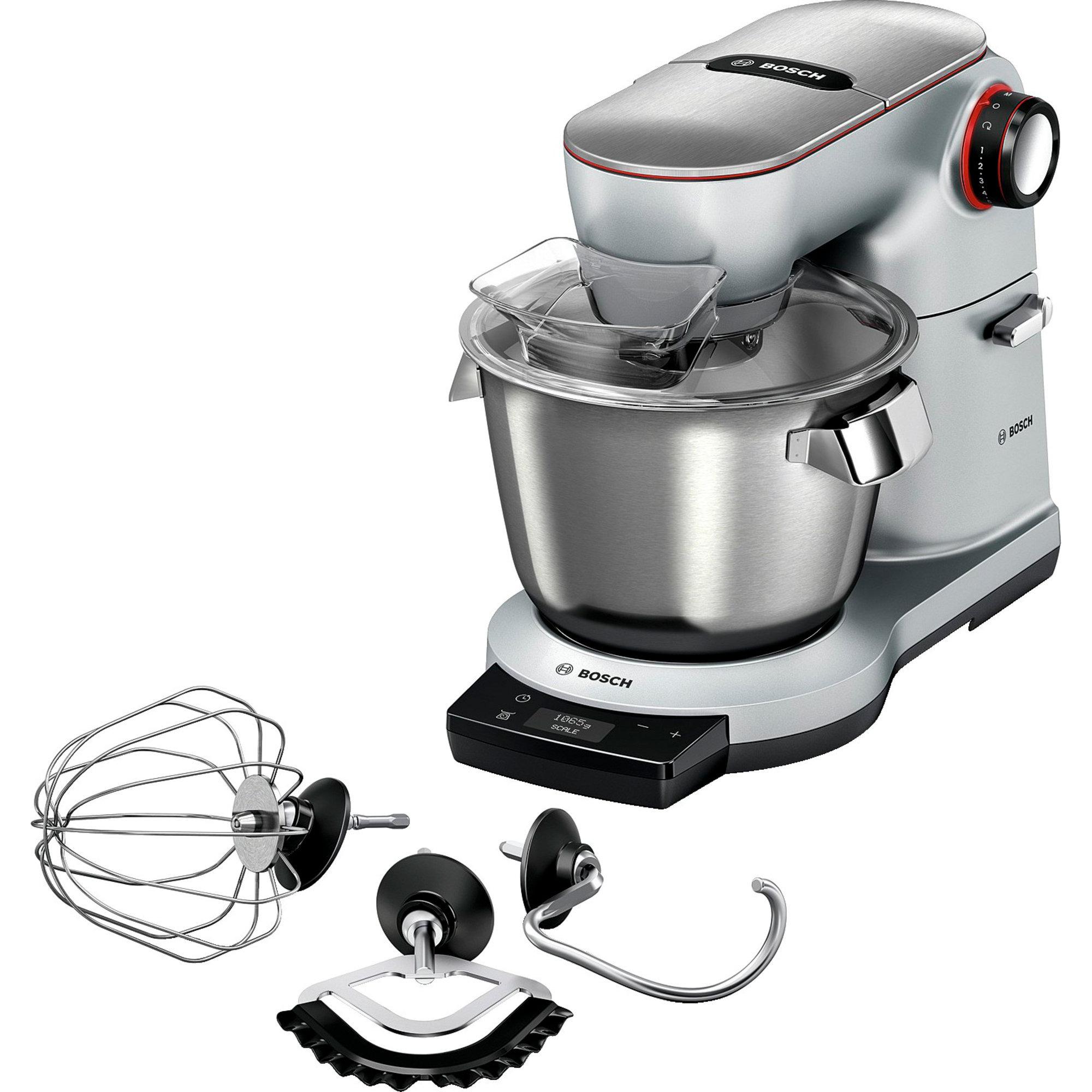 Bosch OptiMUM Köksmaskin med inbyggd timer/våg Silver