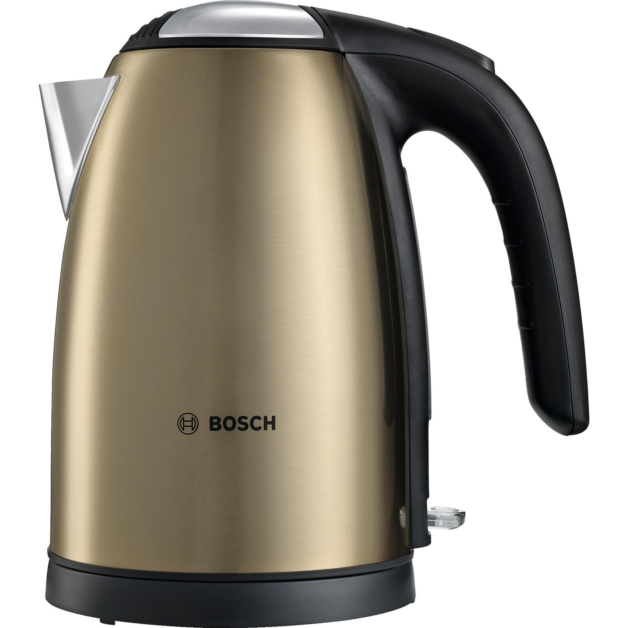 Bosch TWK7808 Vattenkokare Rostfritt stål – Golden