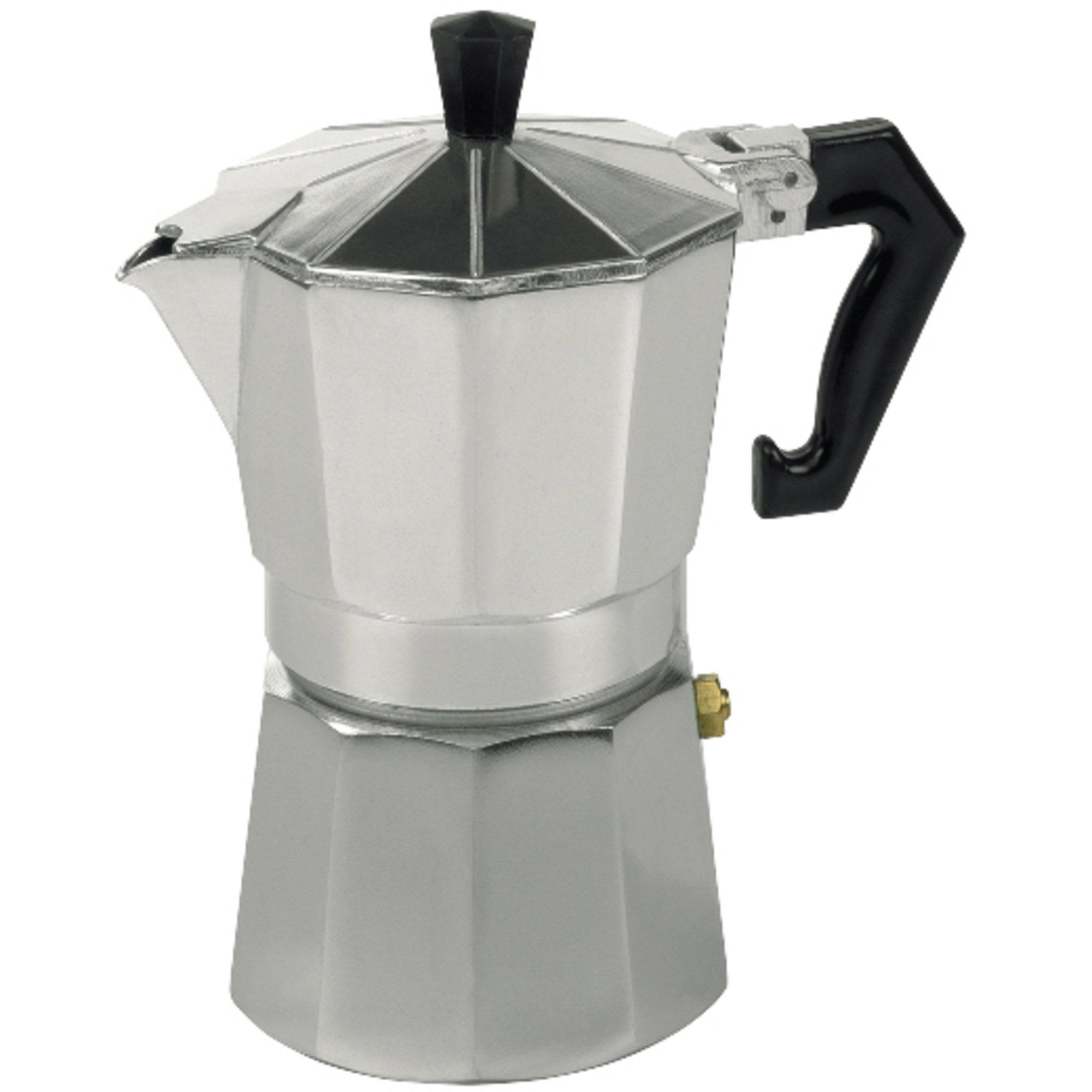 Bredemeijer Espressokande aluminium 3 kopper
