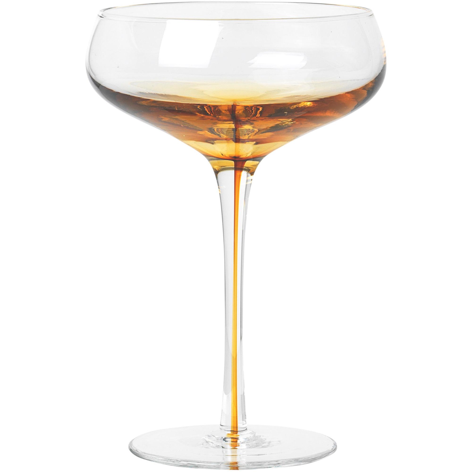Broste Copenhagen Amber Cocktailglas