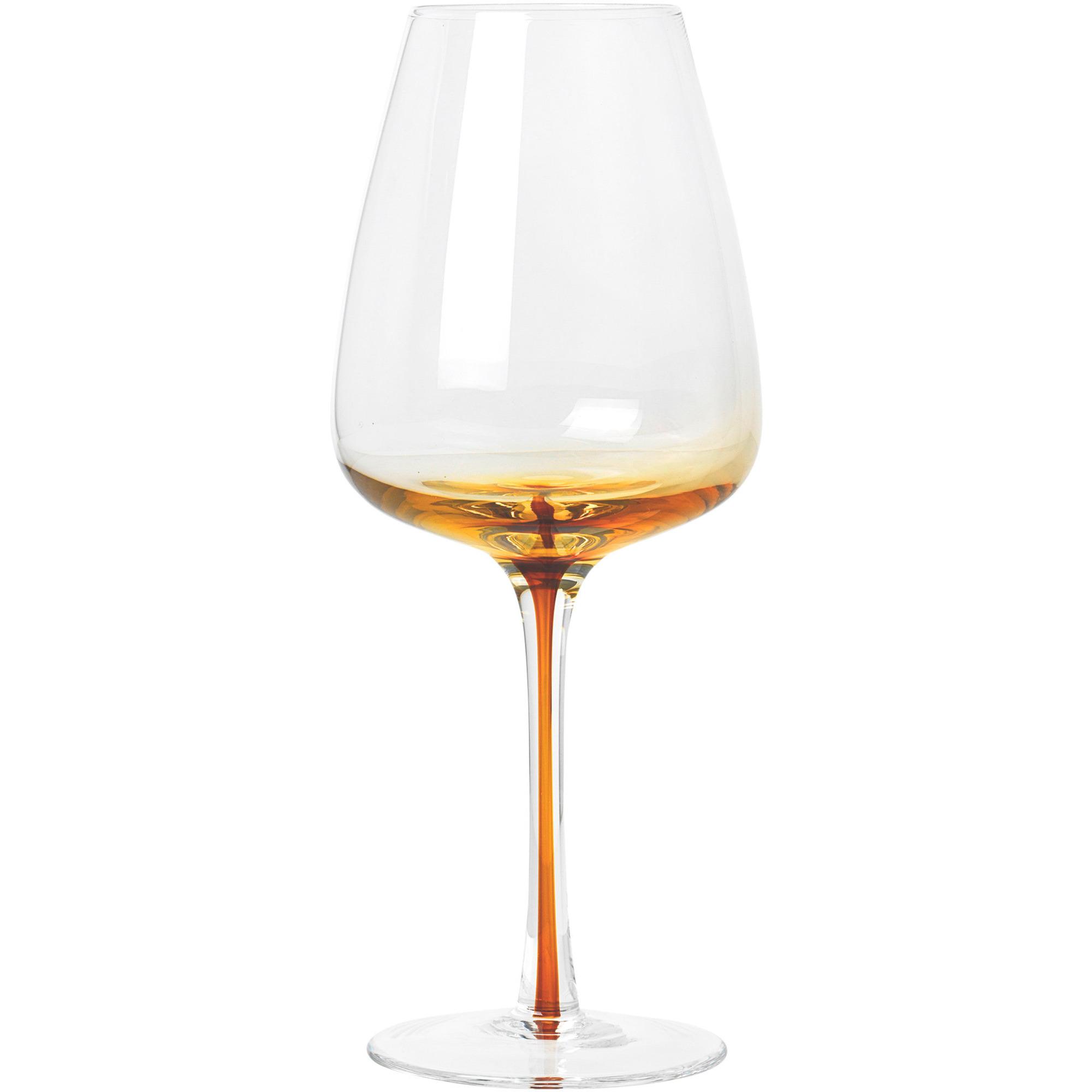 Broste Copenhagen 'Amber' Munblåst vitvinsglas