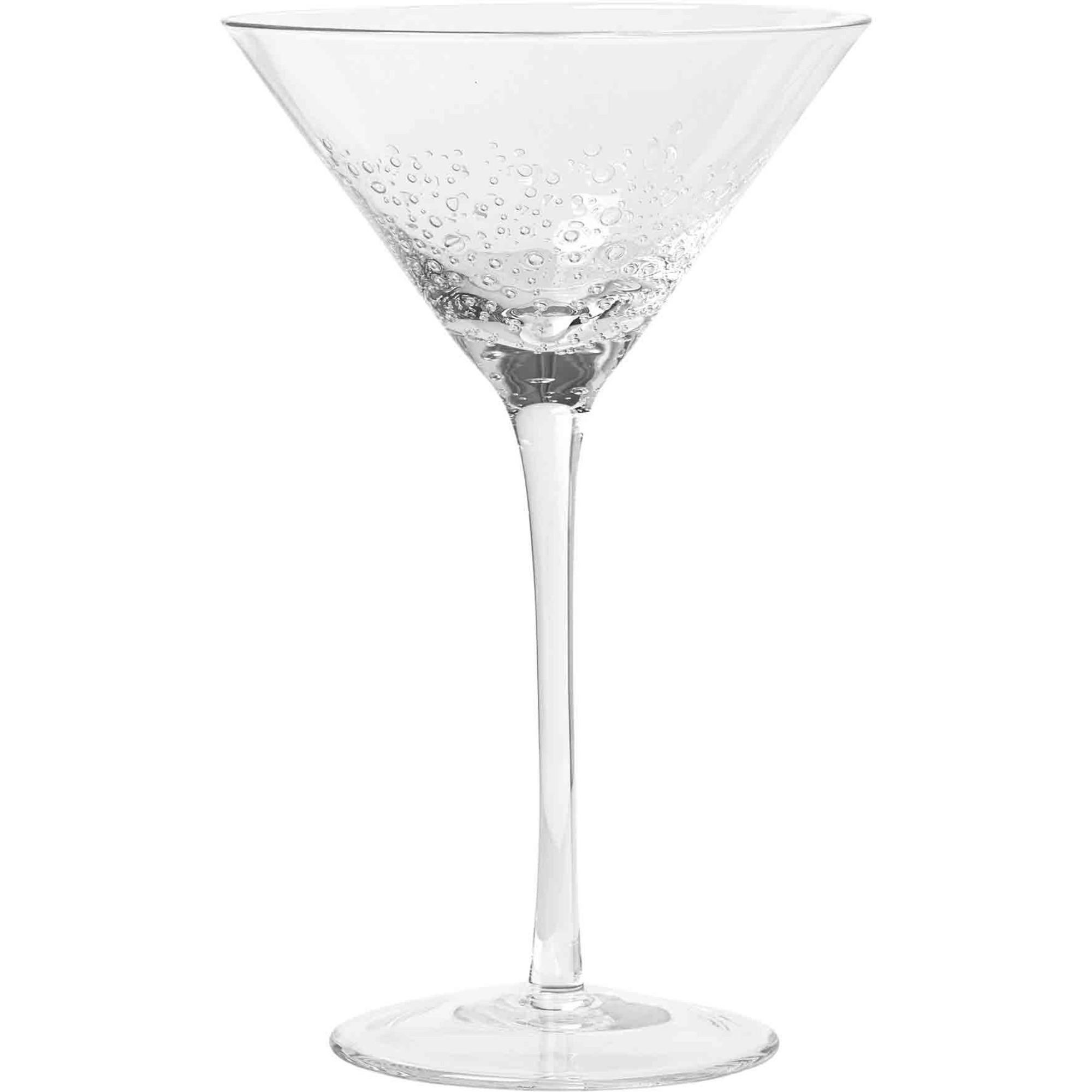 Broste Copenhagen 'Bubble' Munblåst Martiniglas