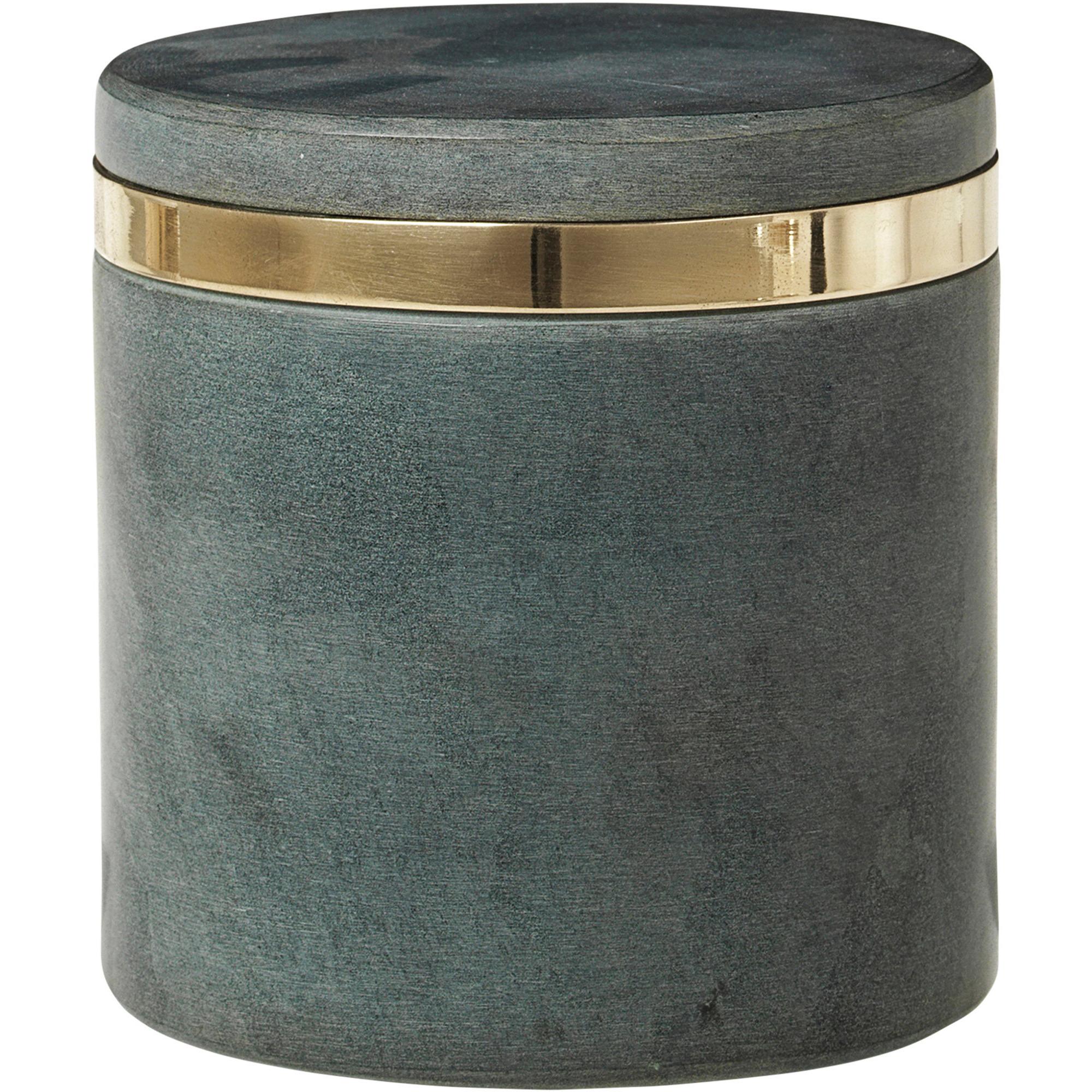 Broste Copenhagen Burk 'Ring' i färgen 'Soap Stone' S