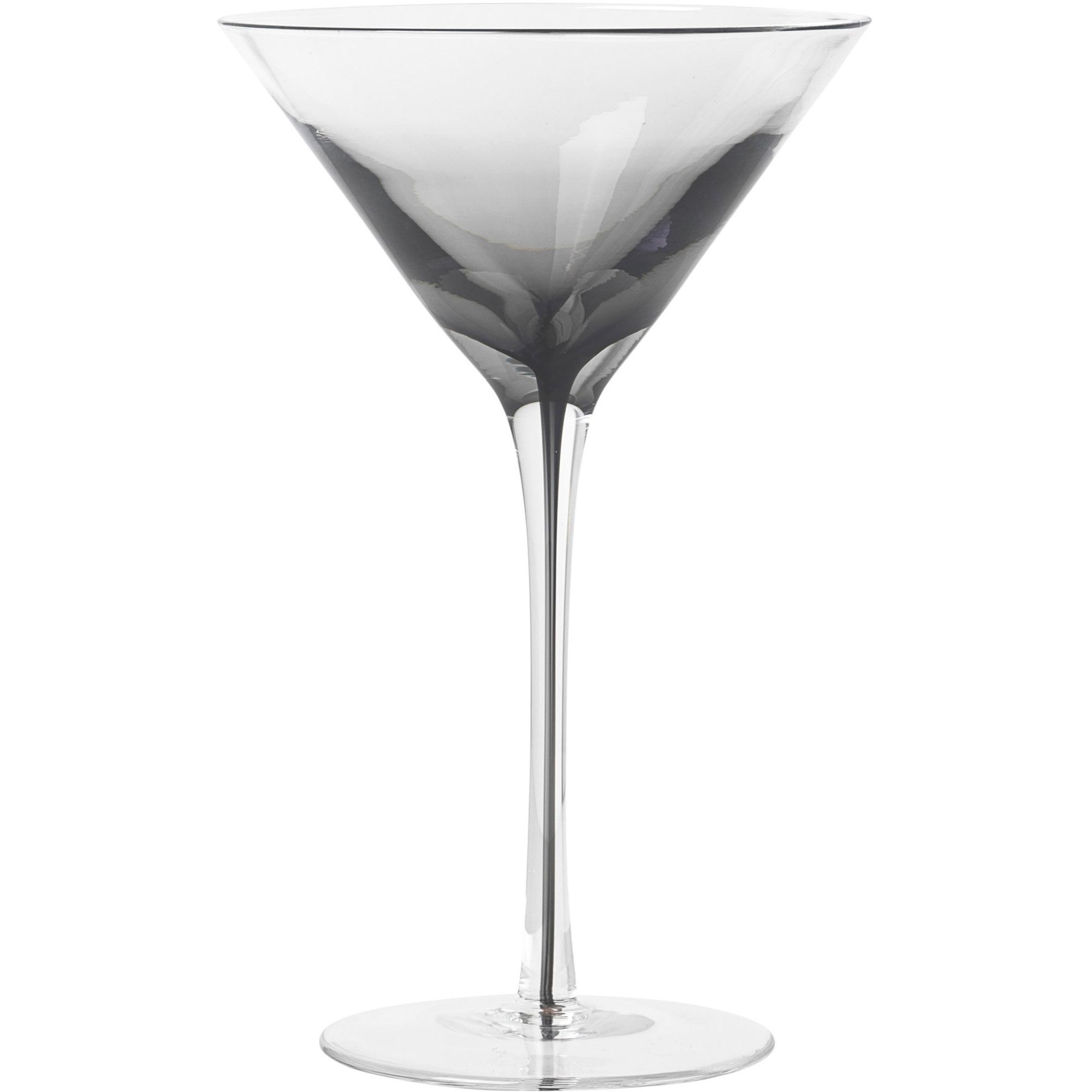 Broste Copenhagen 'Smoke' Munblåst martiniglas