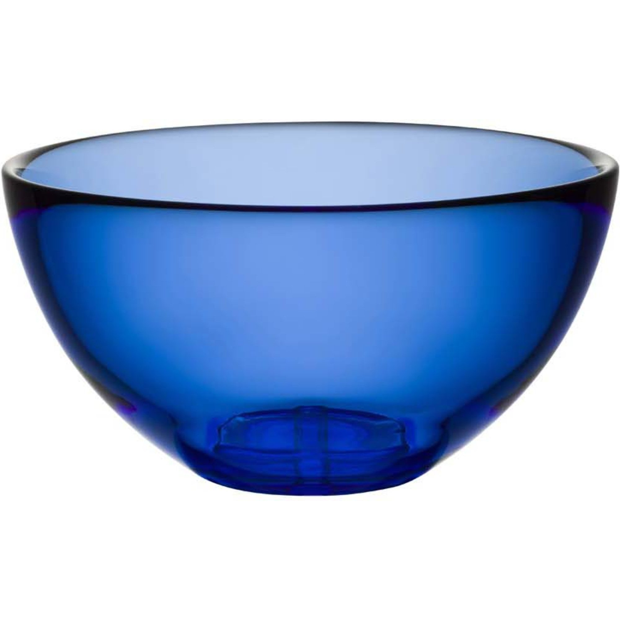 Kosta Boda Bruk Serveringsskål Water Blue Small