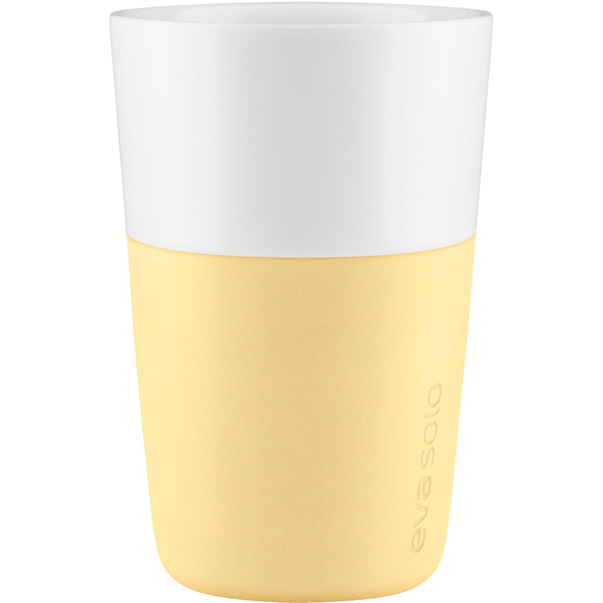 Eva Solo Cafe Latte mugg 2 st. Lemon drop