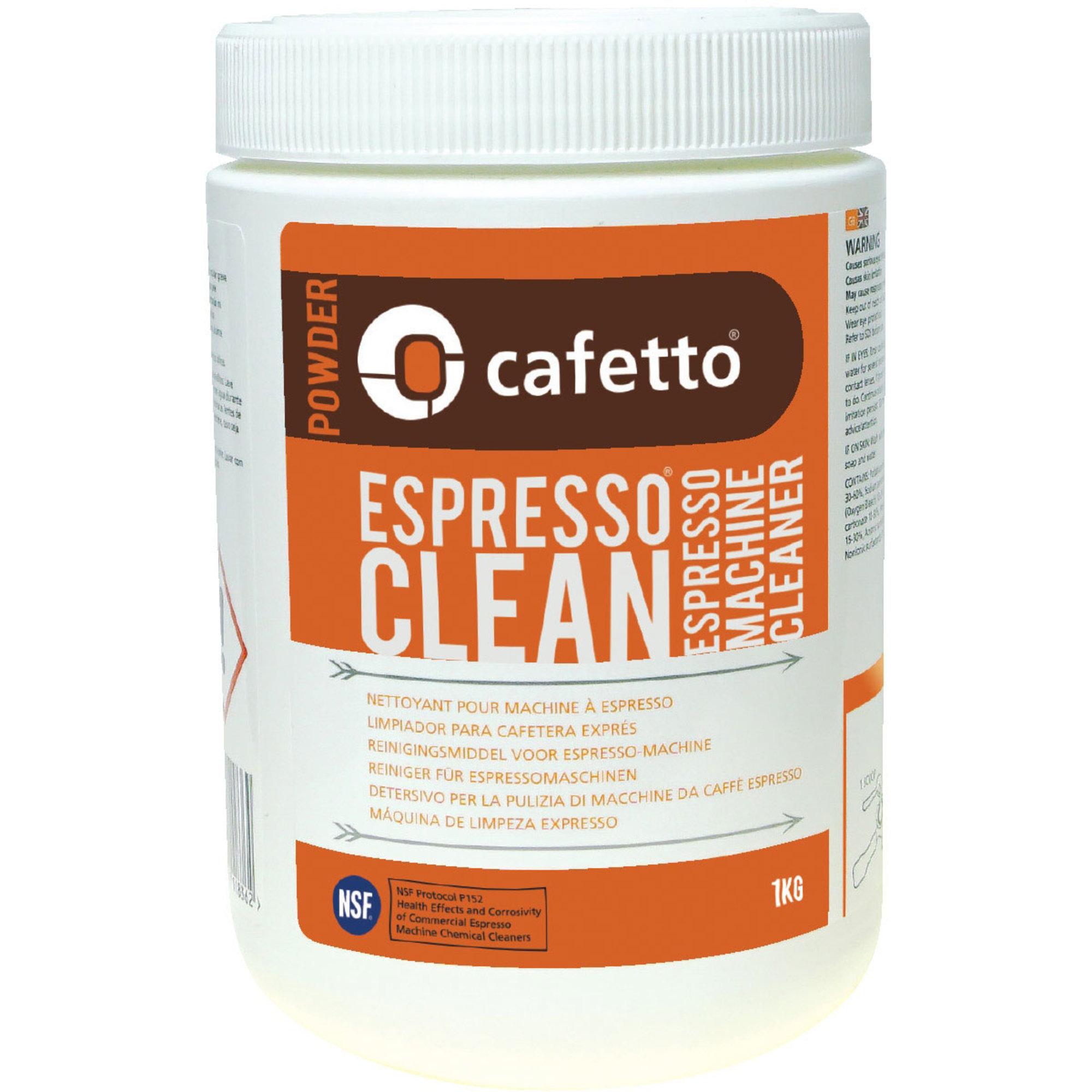 Cafetto Rengöringspulver 1 kg.