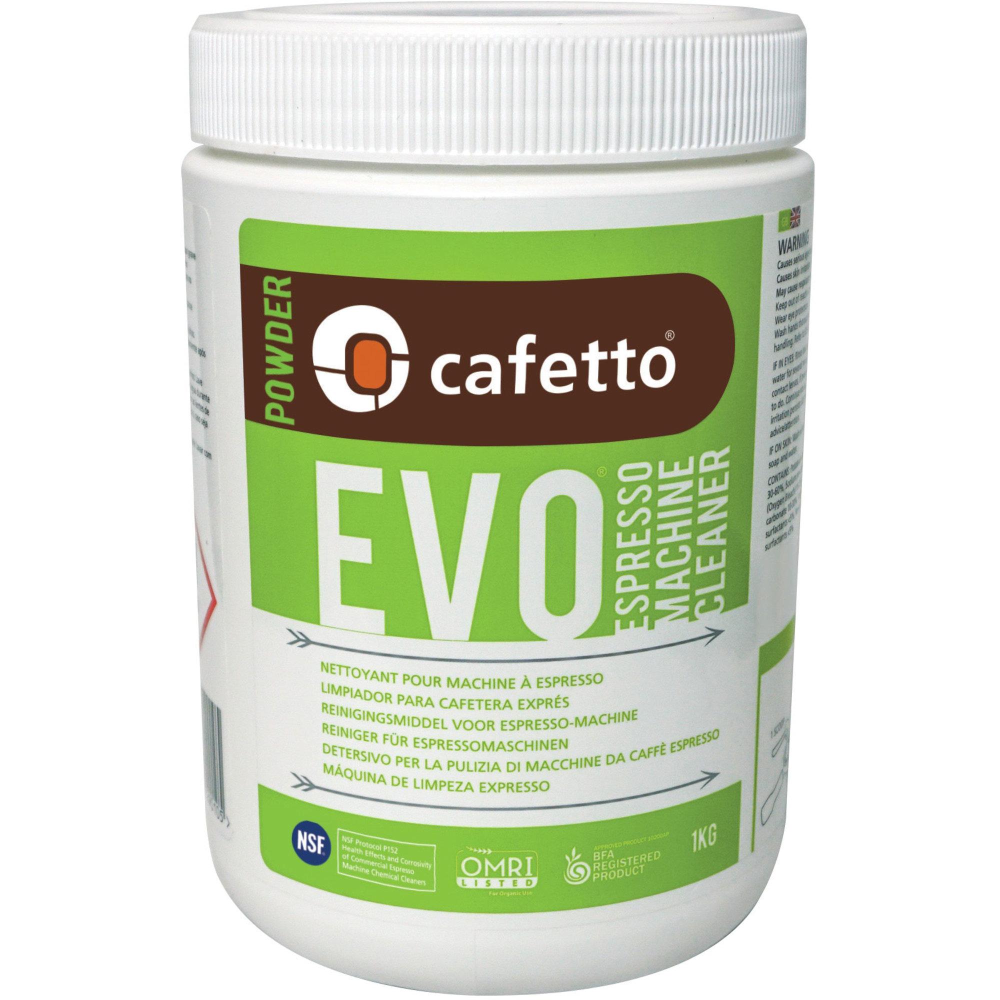 Cafetto EVO Rengöringspulver 1 kg.
